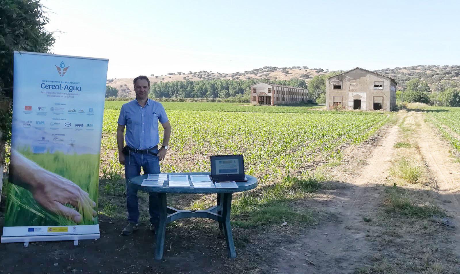 La Universidad de Salamanca forma en sostenibilidad hídrica y eficiencia del cultivo del cereal en las jornadas del Grupo Operativo Cereal Agua