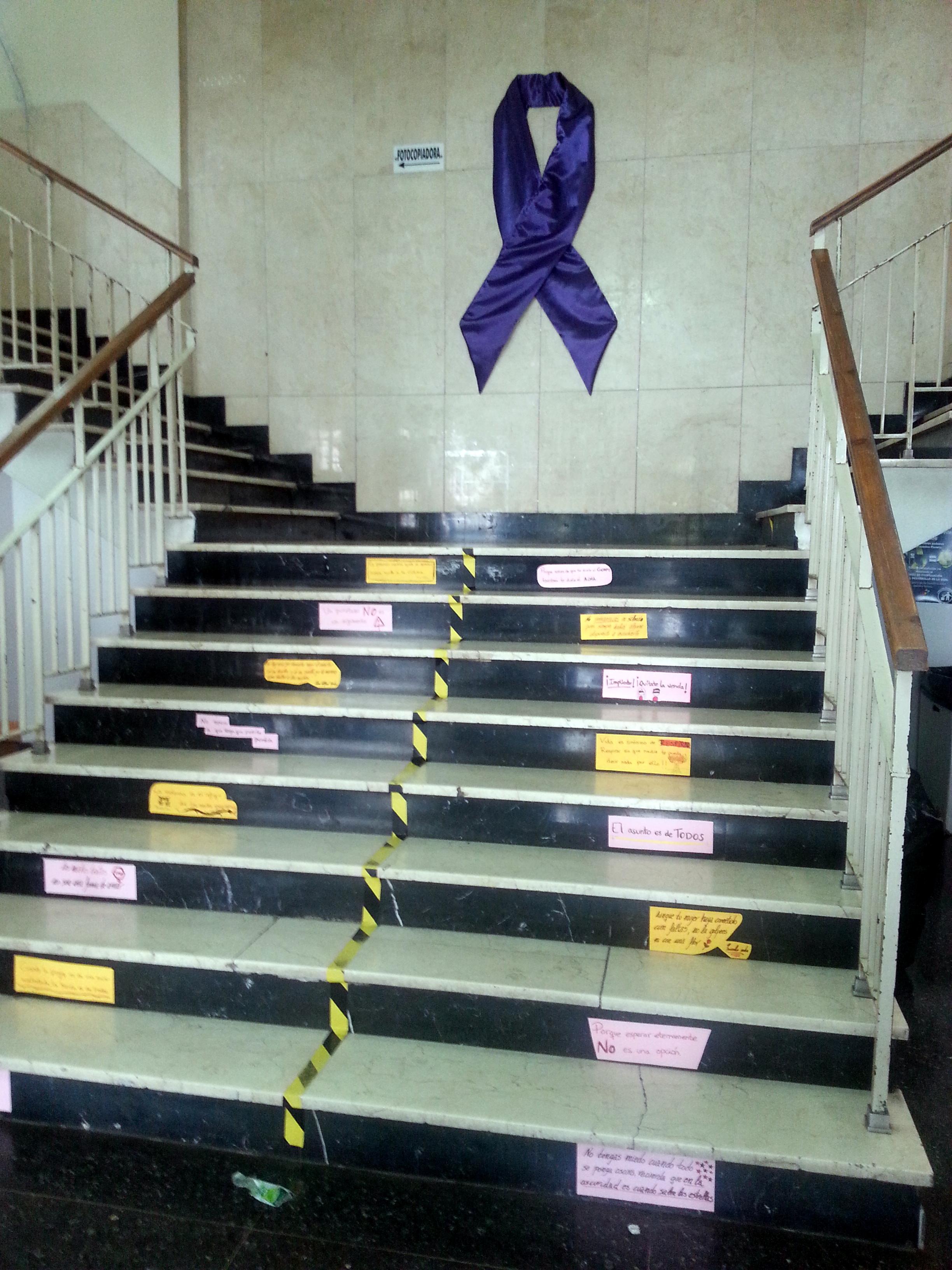 La Facultad de Psicología se suma al Día Internacional contra la Violencia de Género
