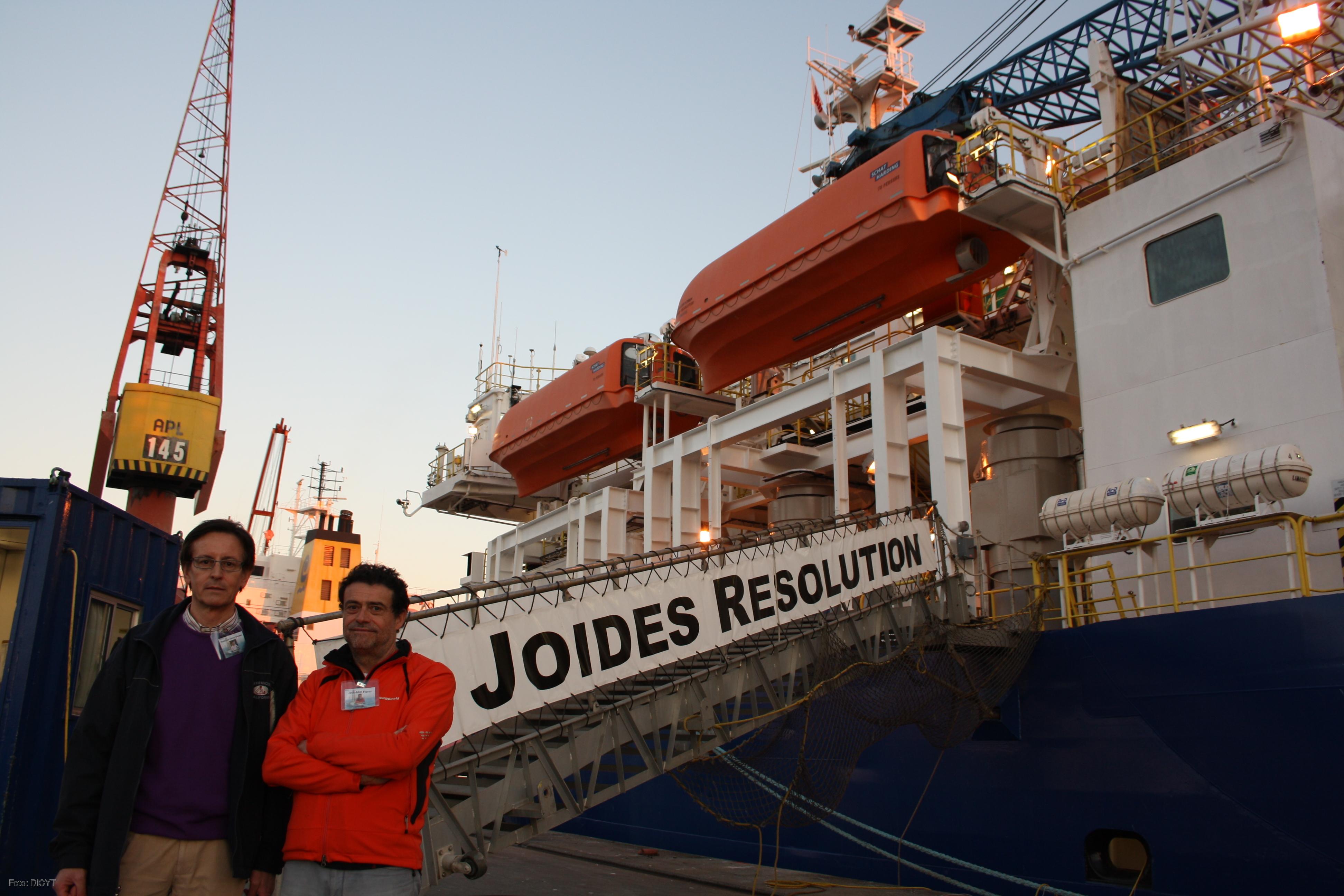 Visita al buque oceanográfico Joides Resolution.
