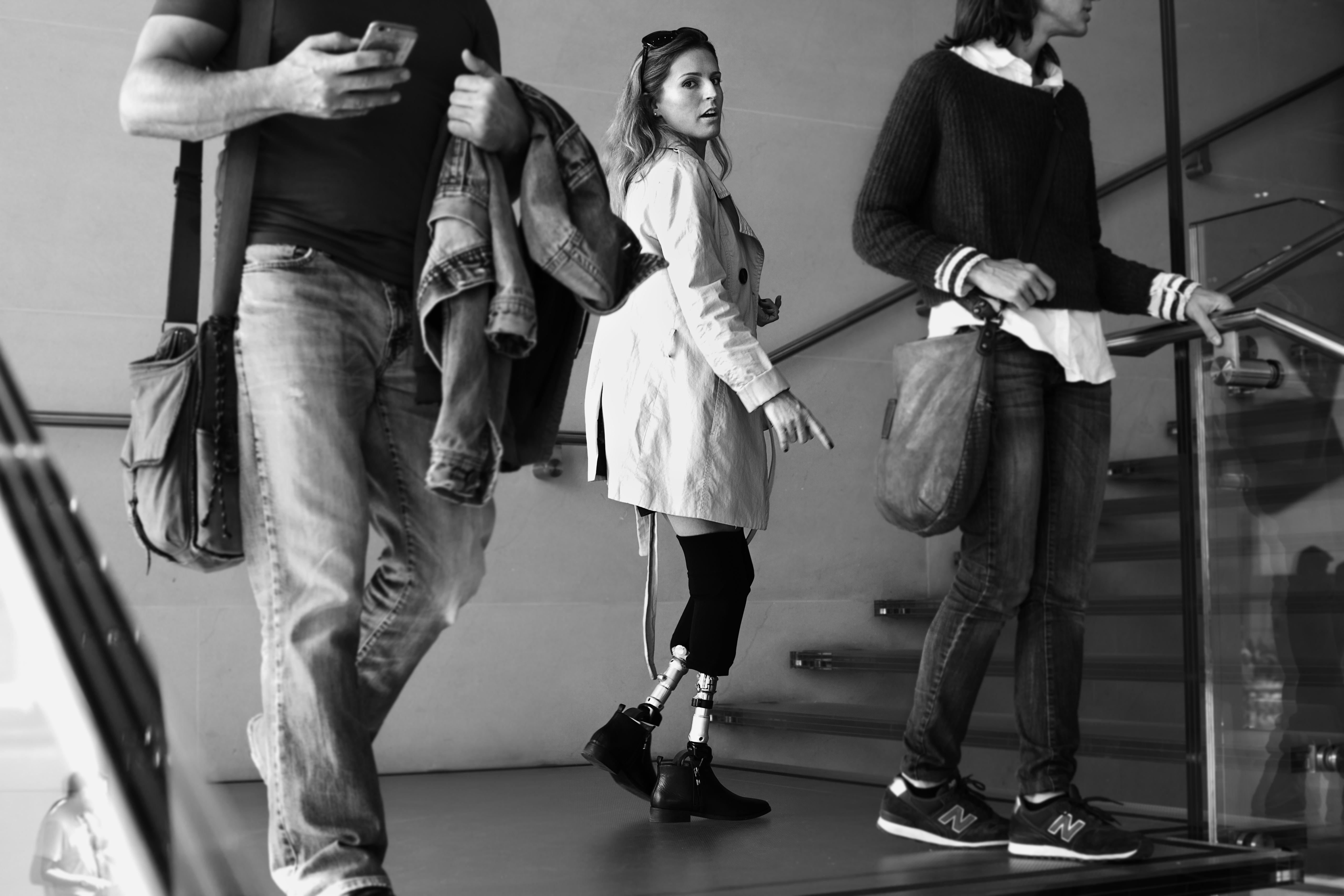 La imagen 'Pies de foto' gana el XIV Concurso de Fotografía Digital 'Las personas con discapacidad en la vida cotidiana'