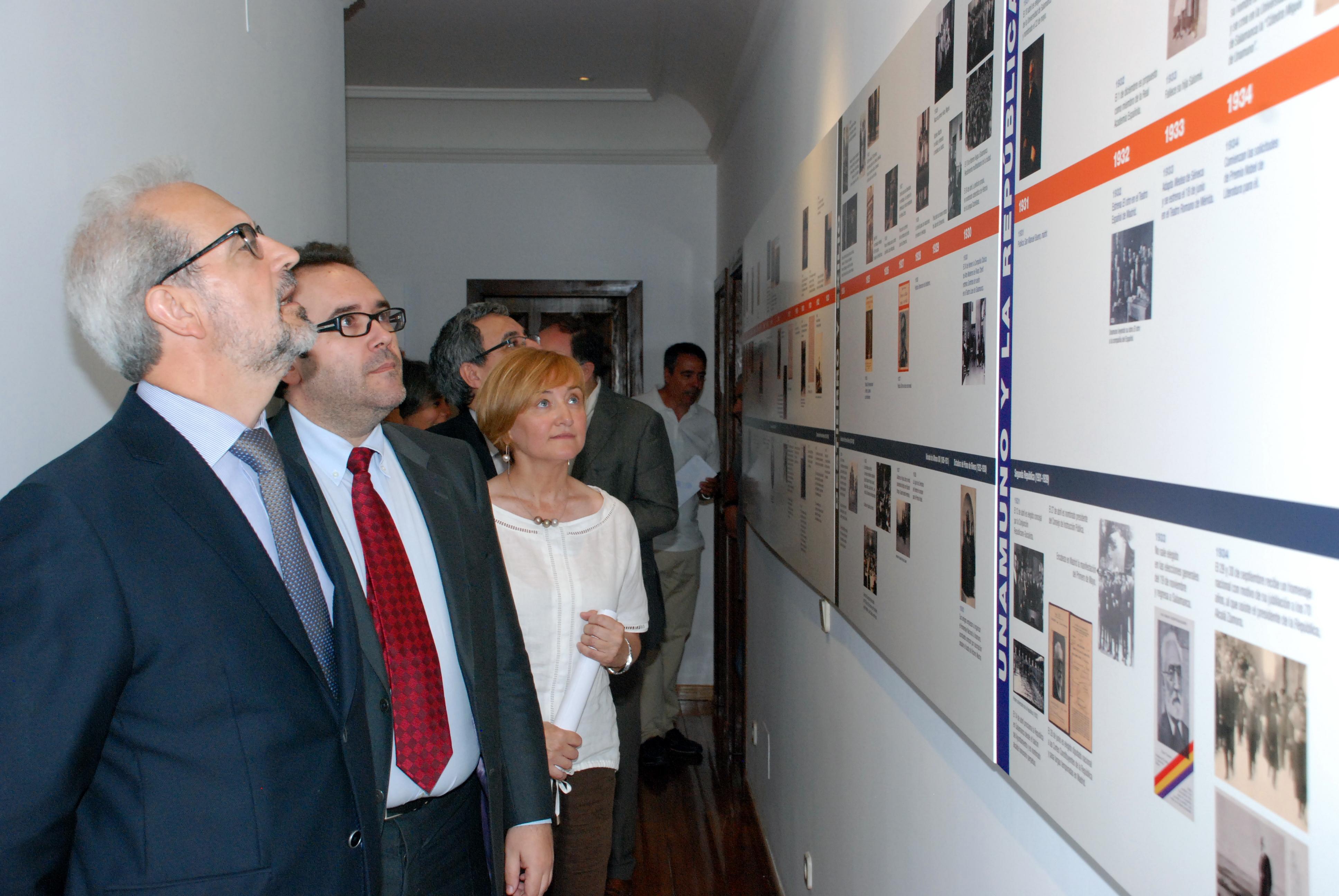 La intervención museística en la Casa Museo Unamuno inaugura el Proyecto Unamuno 2018 impulsado por la Universidad de Salamanca