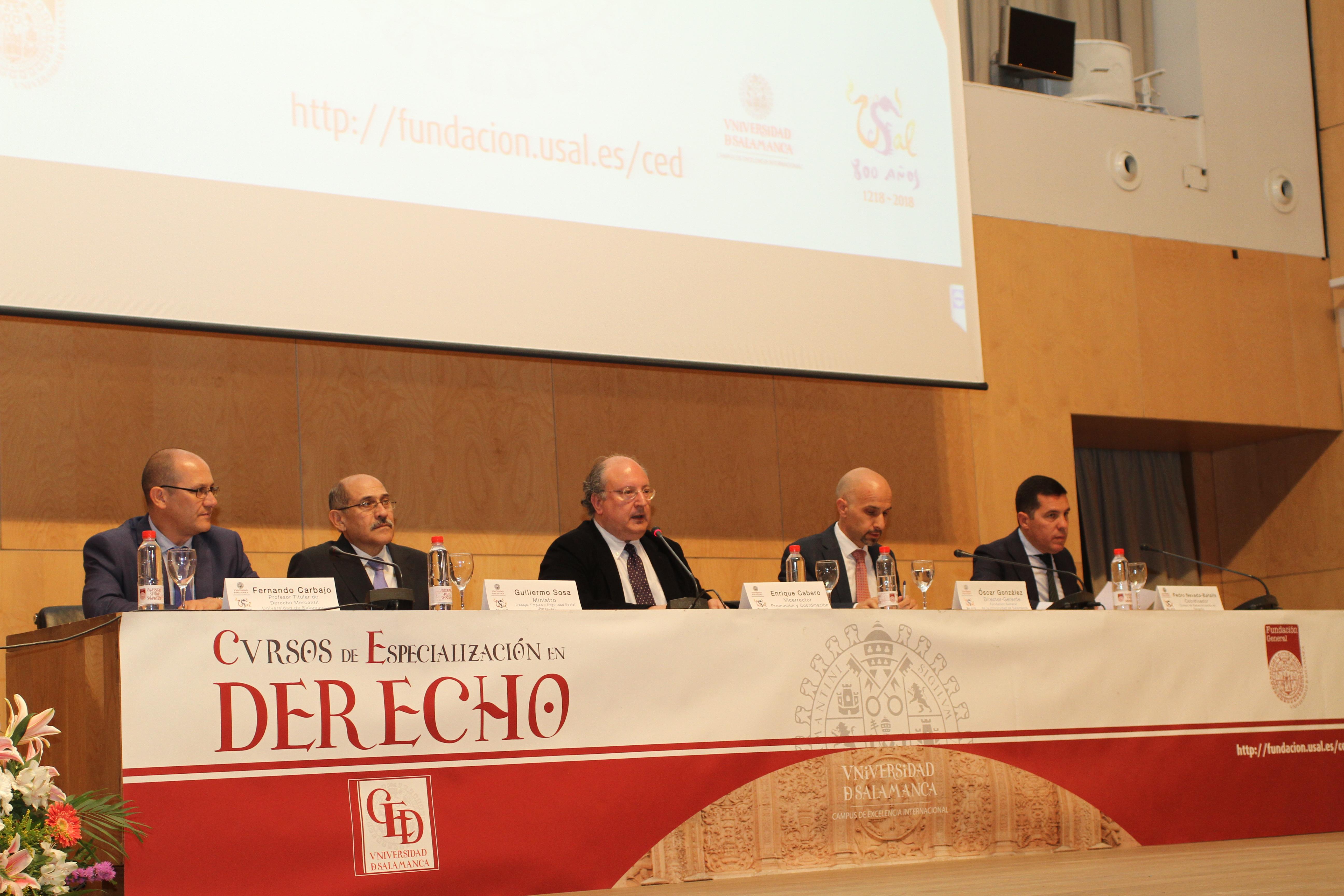 Un total de 170 estudiantes de 15 países iberoamericanos participan en la 41ª edición de los Cursos de Especialización en Derecho