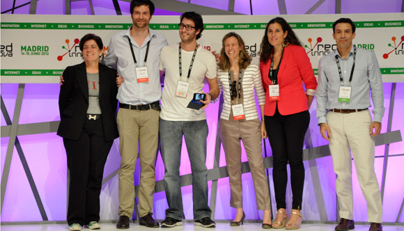 Un estudiante de la Universidad de Salamanca recibe el Premio Red Innova Open Talent 2012