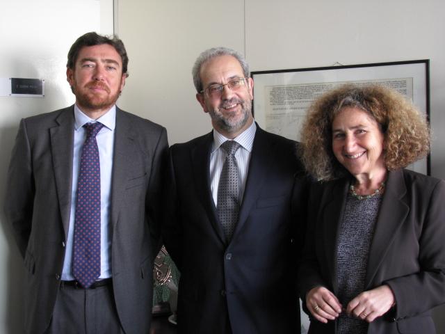 El rector potencia las relaciones de la Universidad de Salamanca con la Asociación Internacional de Universidades