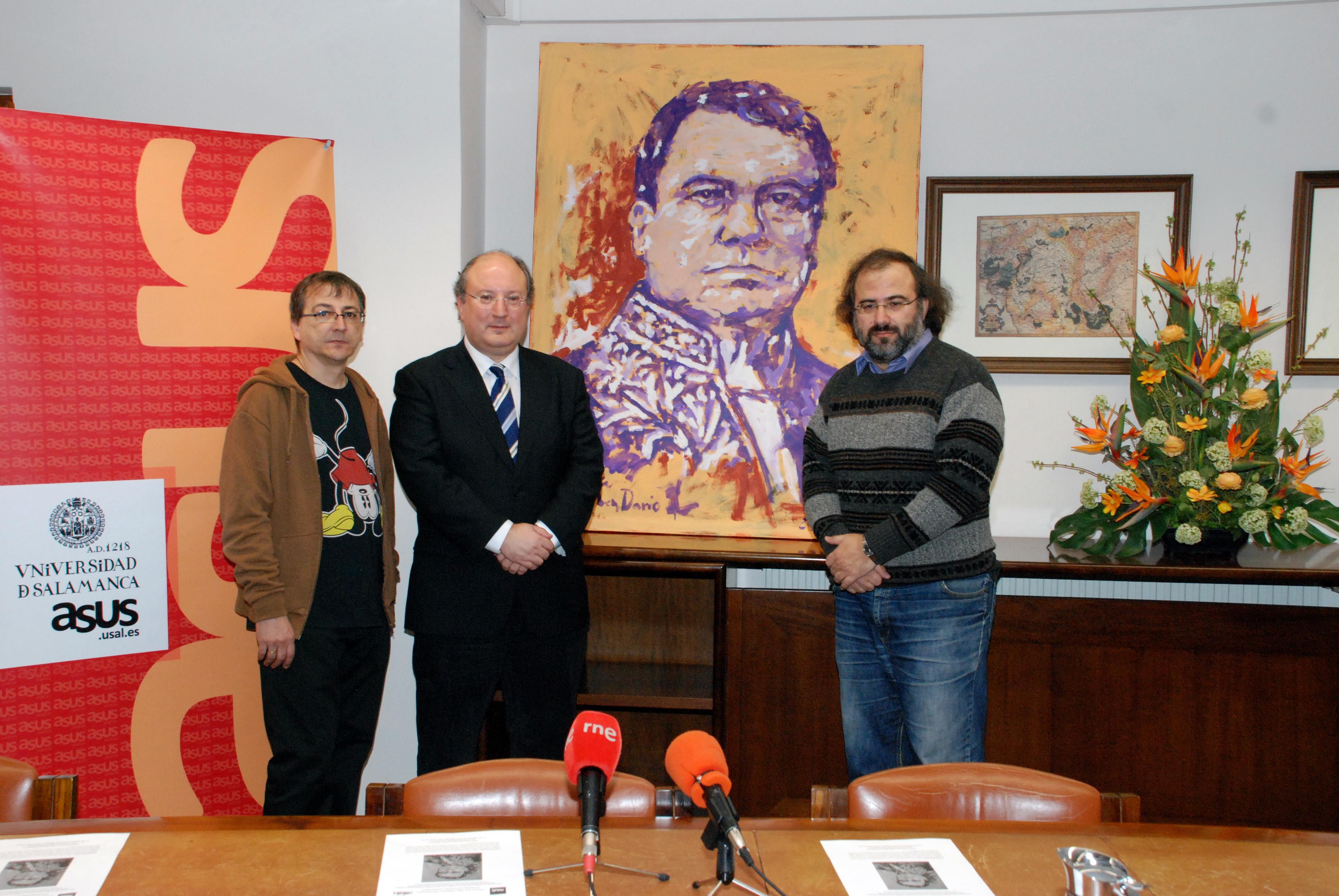 ASUS y la Sociedad de Estudios Literarios de Salamanca organizan un homenaje al poeta Rubén Darío