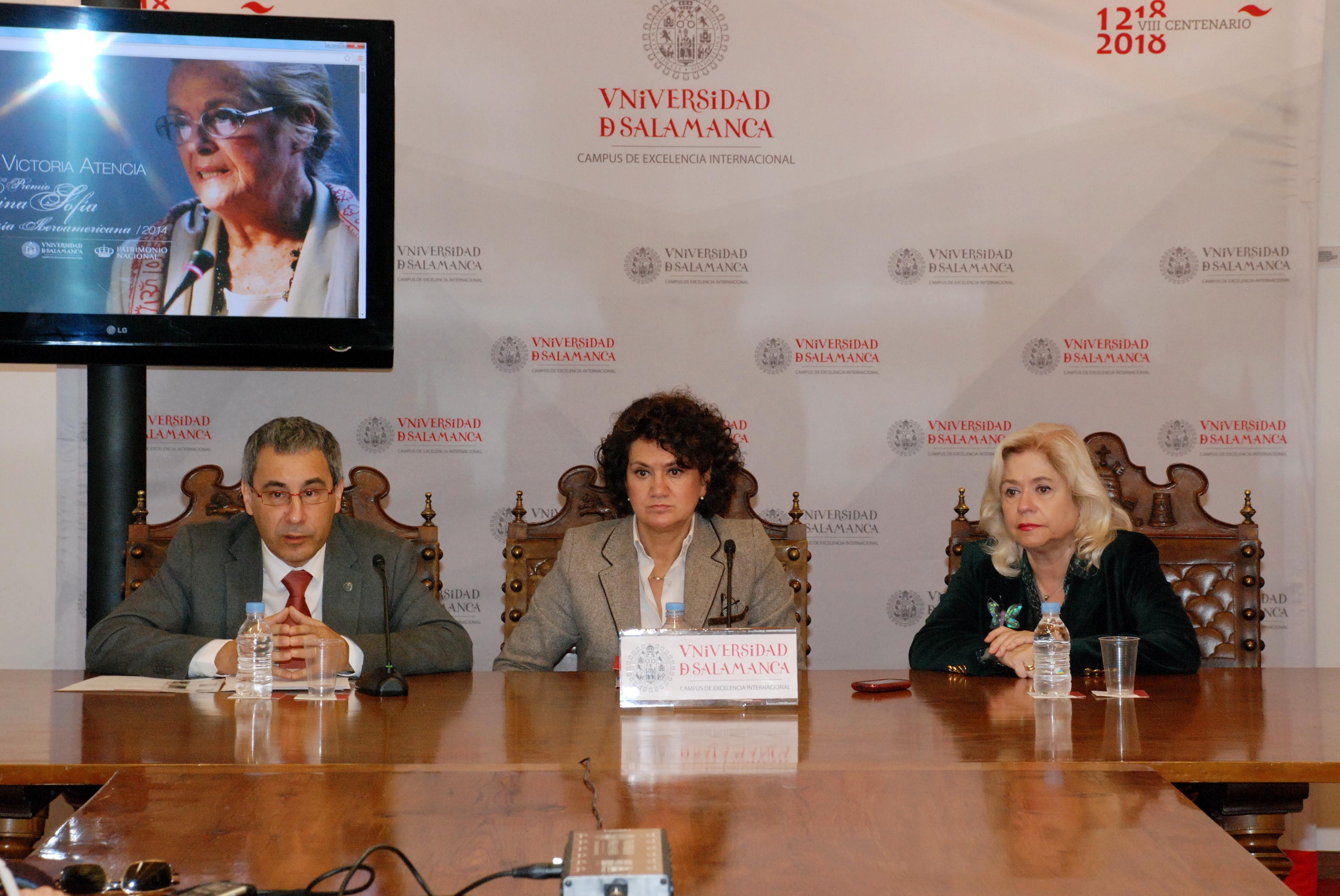 La Universidad de Salamanca diseña un programa cultural en torno al XXIII Premio de Poesía Iberoamericana que desarrollará en las ciudades de Madrid y Málaga