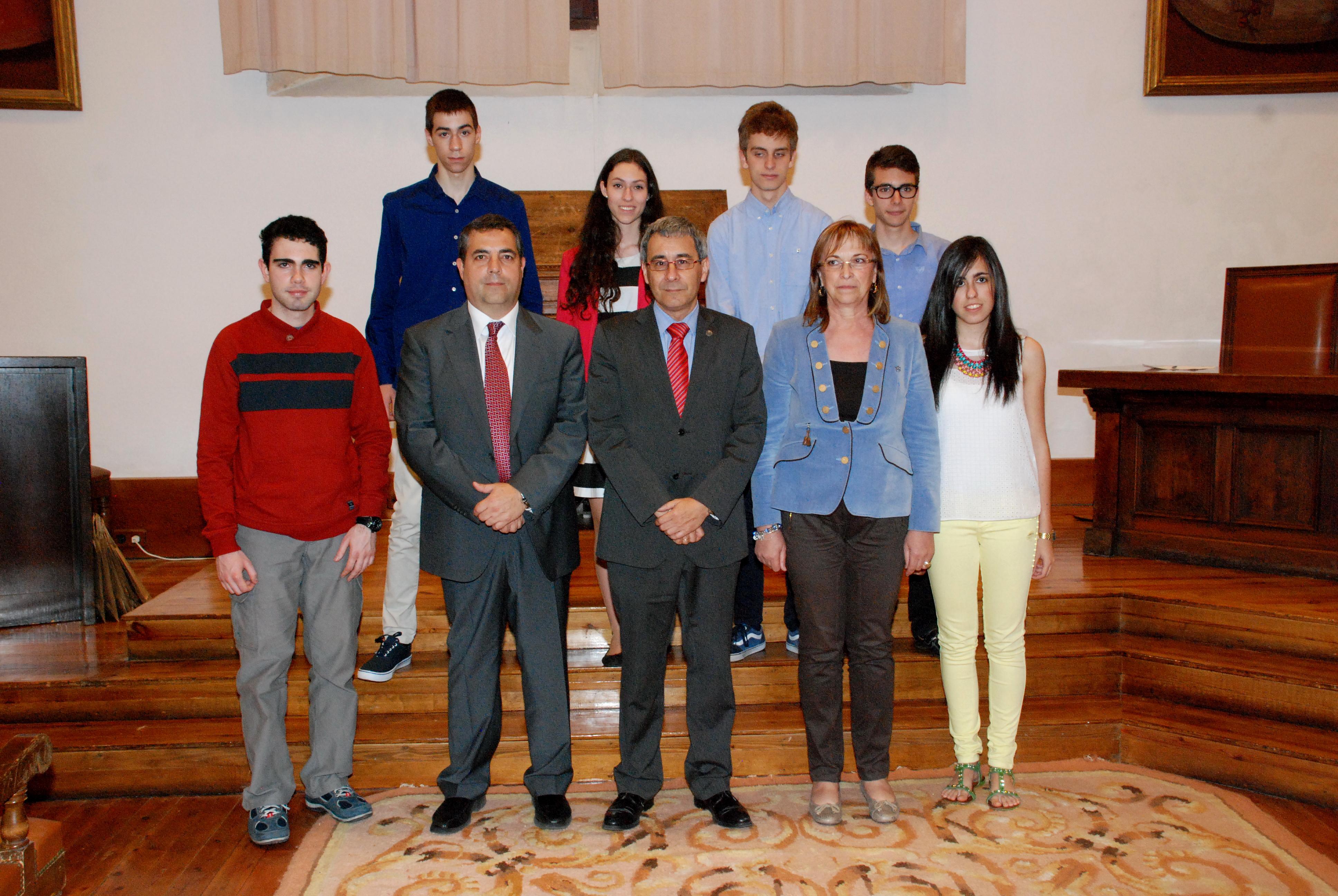 La Facultad de Ciencias Agrarias y Ambientales entrega los premios de la I Olimpiada Agroalimentaria y Agroambiental de Castilla y León