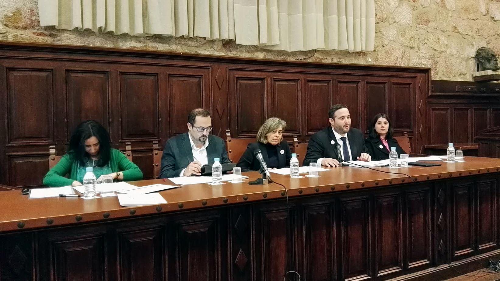 Vicente del Bosque e Ignacio Garmendia, socios de honor de Alumni-Universidad de Salamanca
