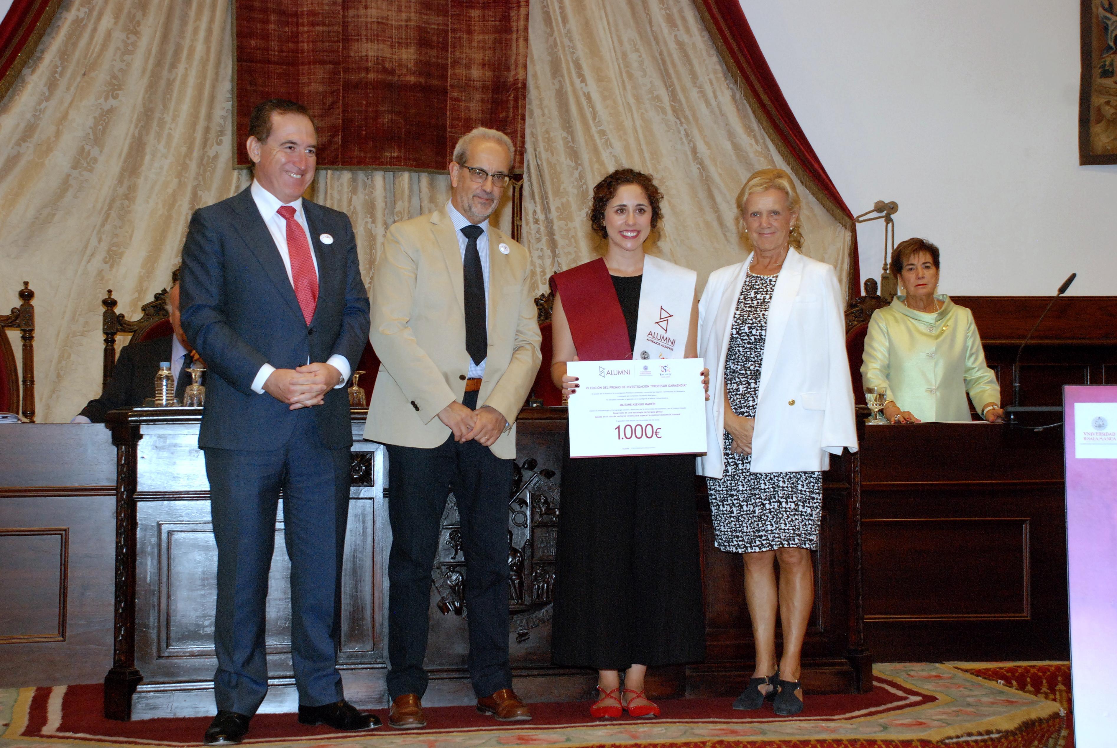 Vicente del Bosque e Ignacio Garmendia, nuevos Socios de Honor de Alumni - Universidad de Salamanca