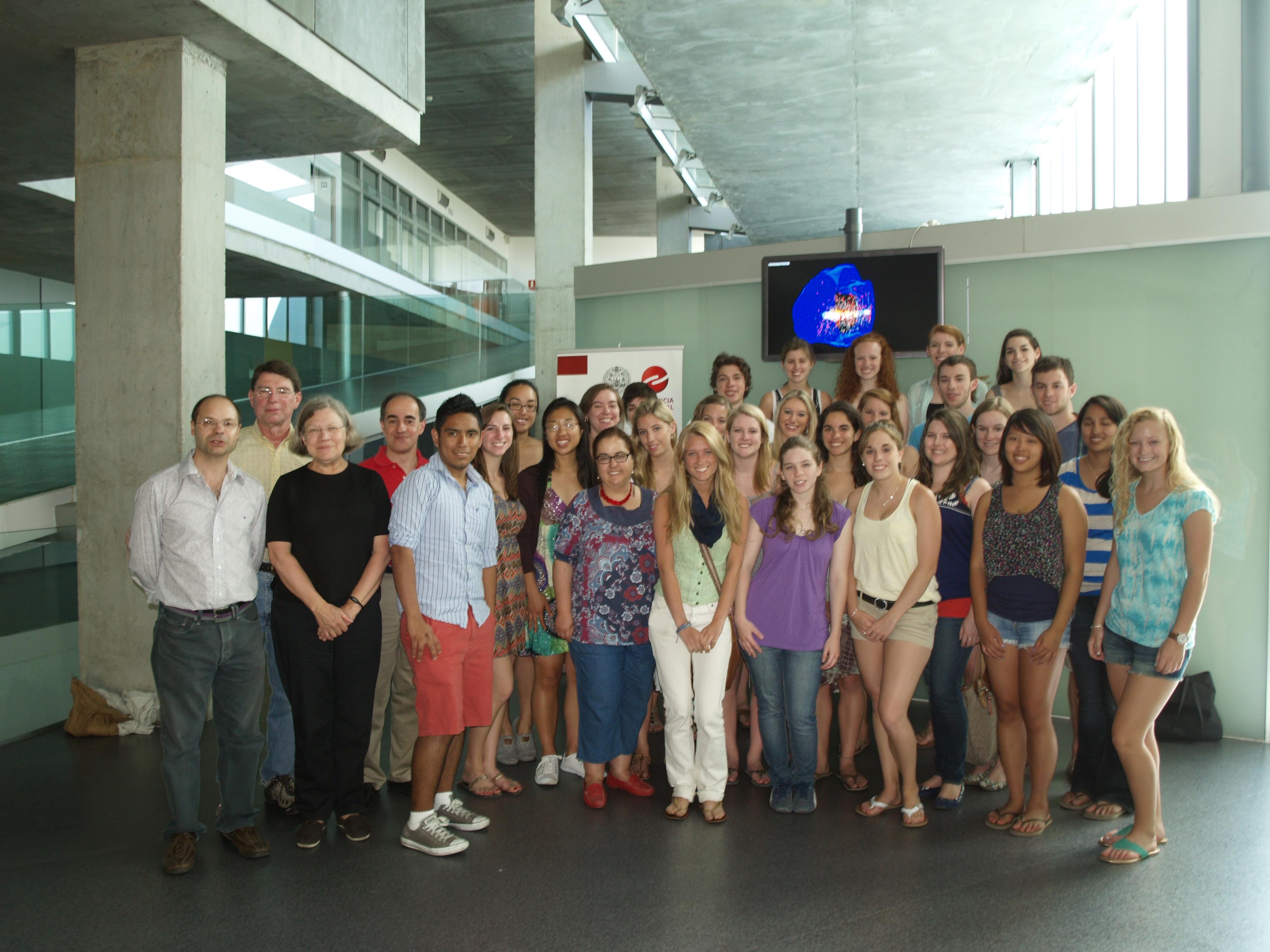 Estudiantes destacados de Estados Unidos y Europa se instruyen en los avances más recientes en Neurociencias en la Universidad de Salamanca