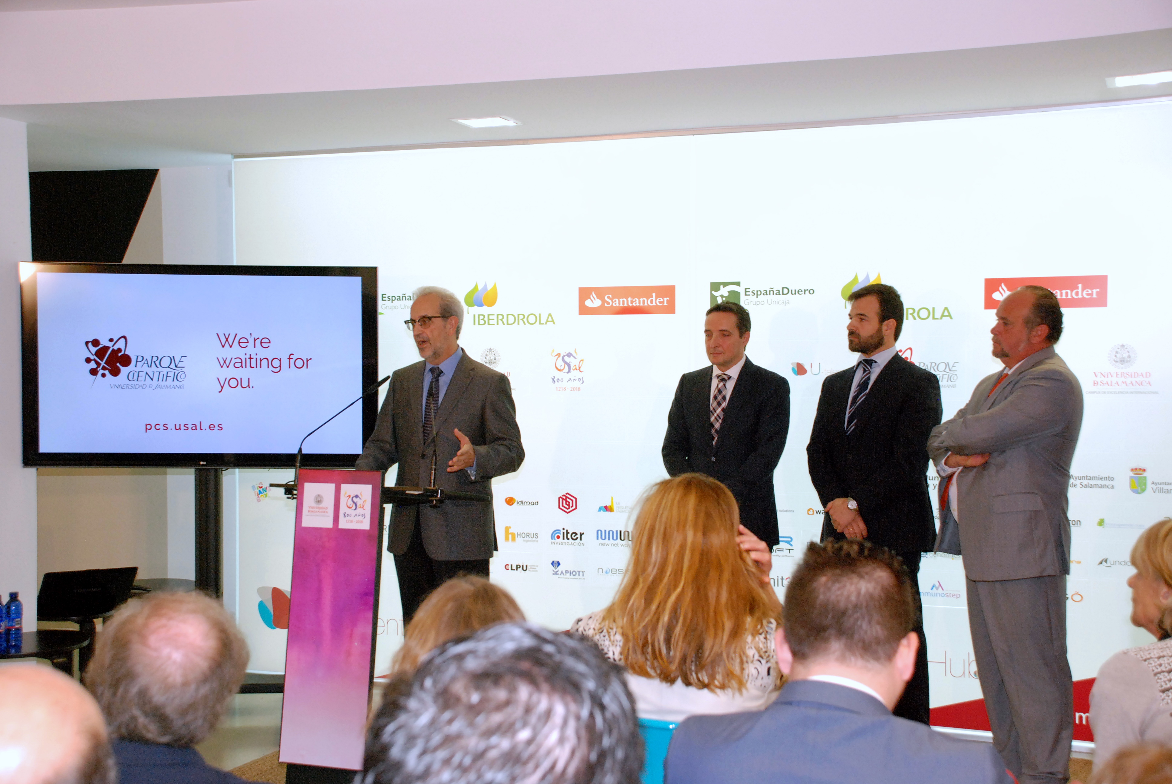 El Parque Científico de la Universidad de Salamanca celebra sus primeros diez años con 55 empresas, más de 800 empleos y una inversión cercana a los 22 millones de euros