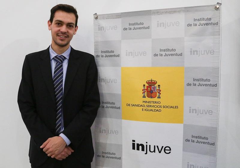Un emprendedor de la Universidad de Salamanca recibe un premio del Certamen Nacional de Jóvenes Emprendedores del Instituto de la Juventud