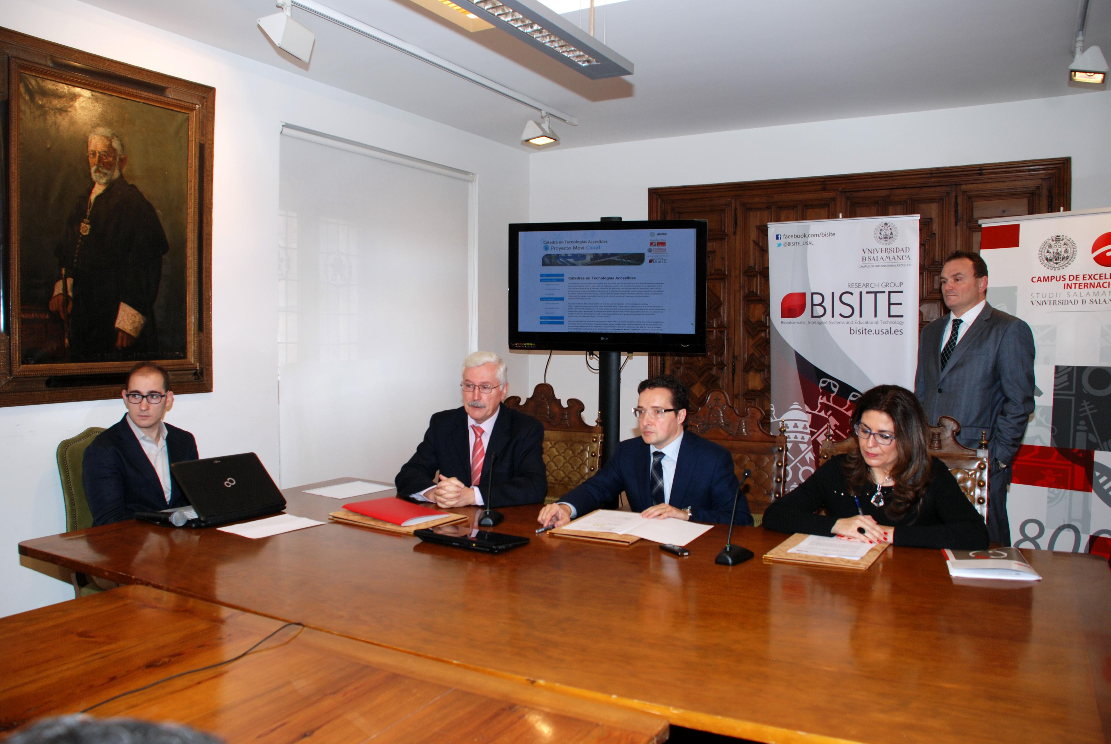 La Universidad de Salamanca sube a la 'nube' su tecnología para facilitar la inserción laboral de las personas con discapacidad