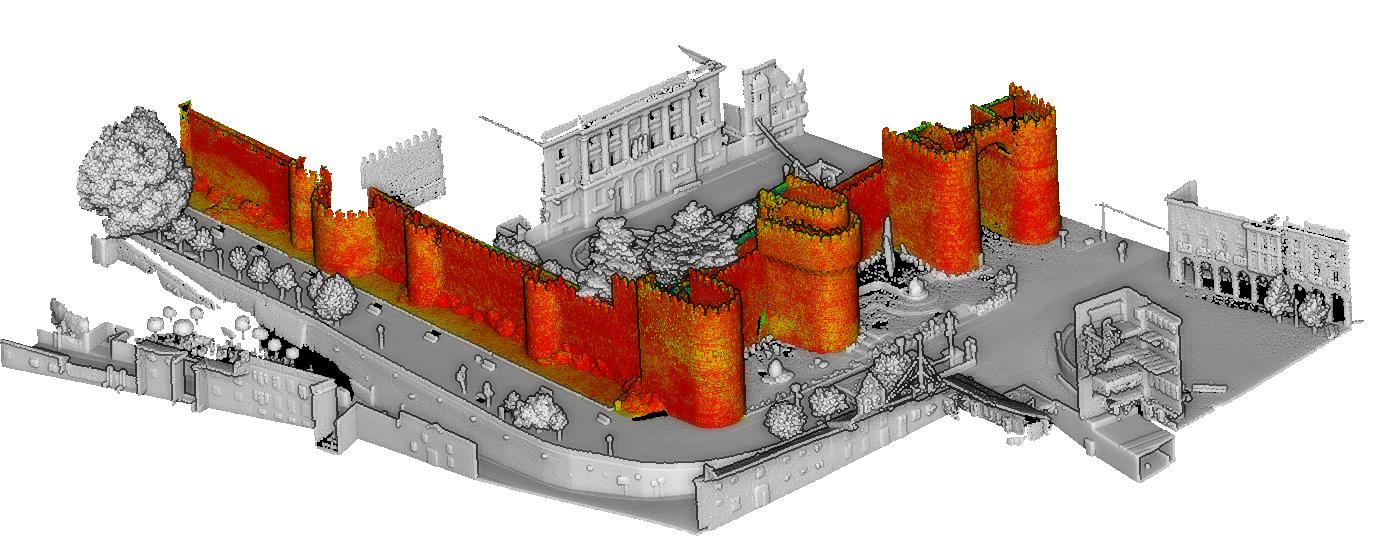 La Universidad de Salamanca estudia los cambios de la Muralla de Ávila en el tiempo en un trabajo internacional sobre enclaves europeos Patrimonio de la Humanidad