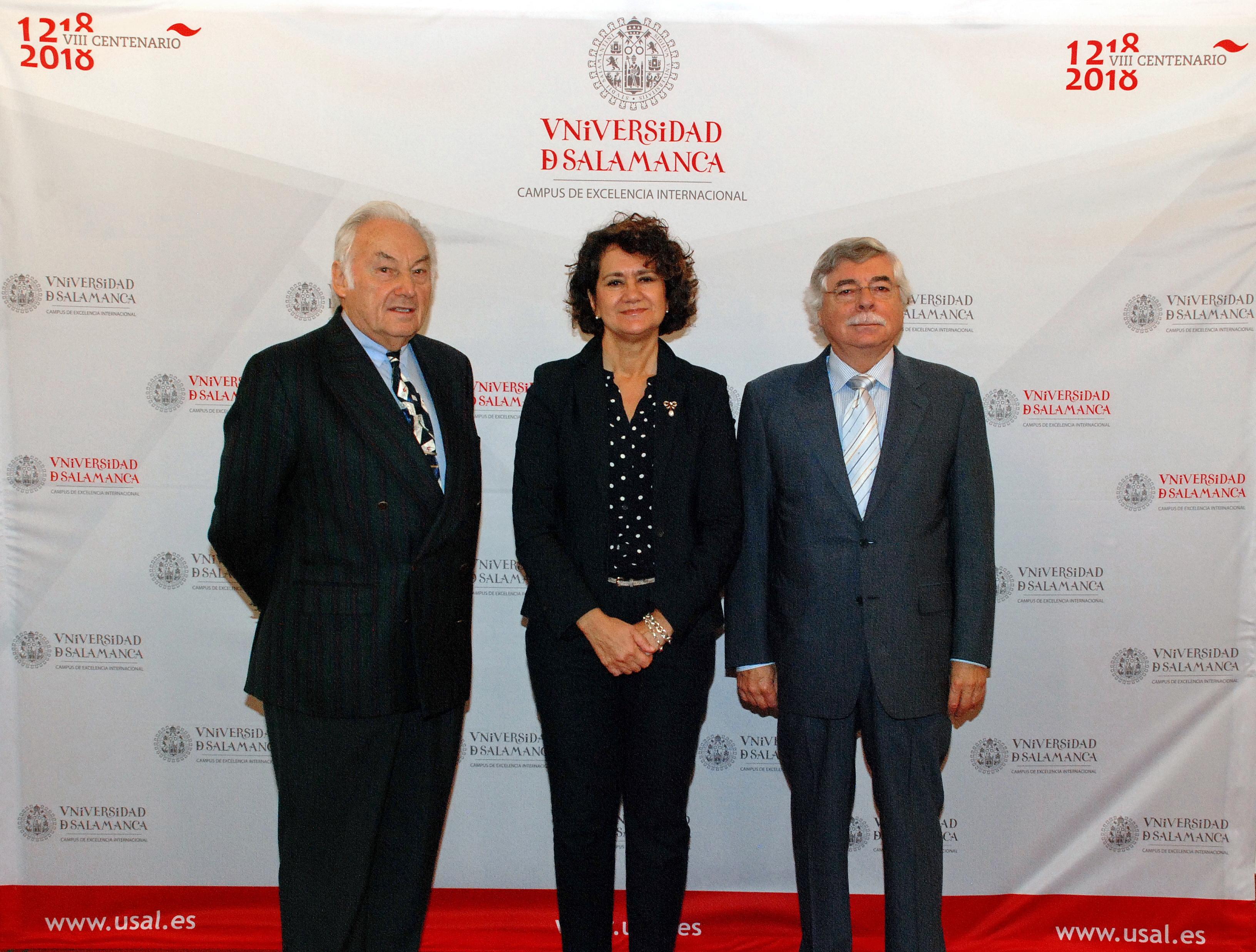La Fundación Vista Linda lanza la beca 'VIII Centenario' para promocionar la Universidad de Salamanca a través de la docencia y la investigación