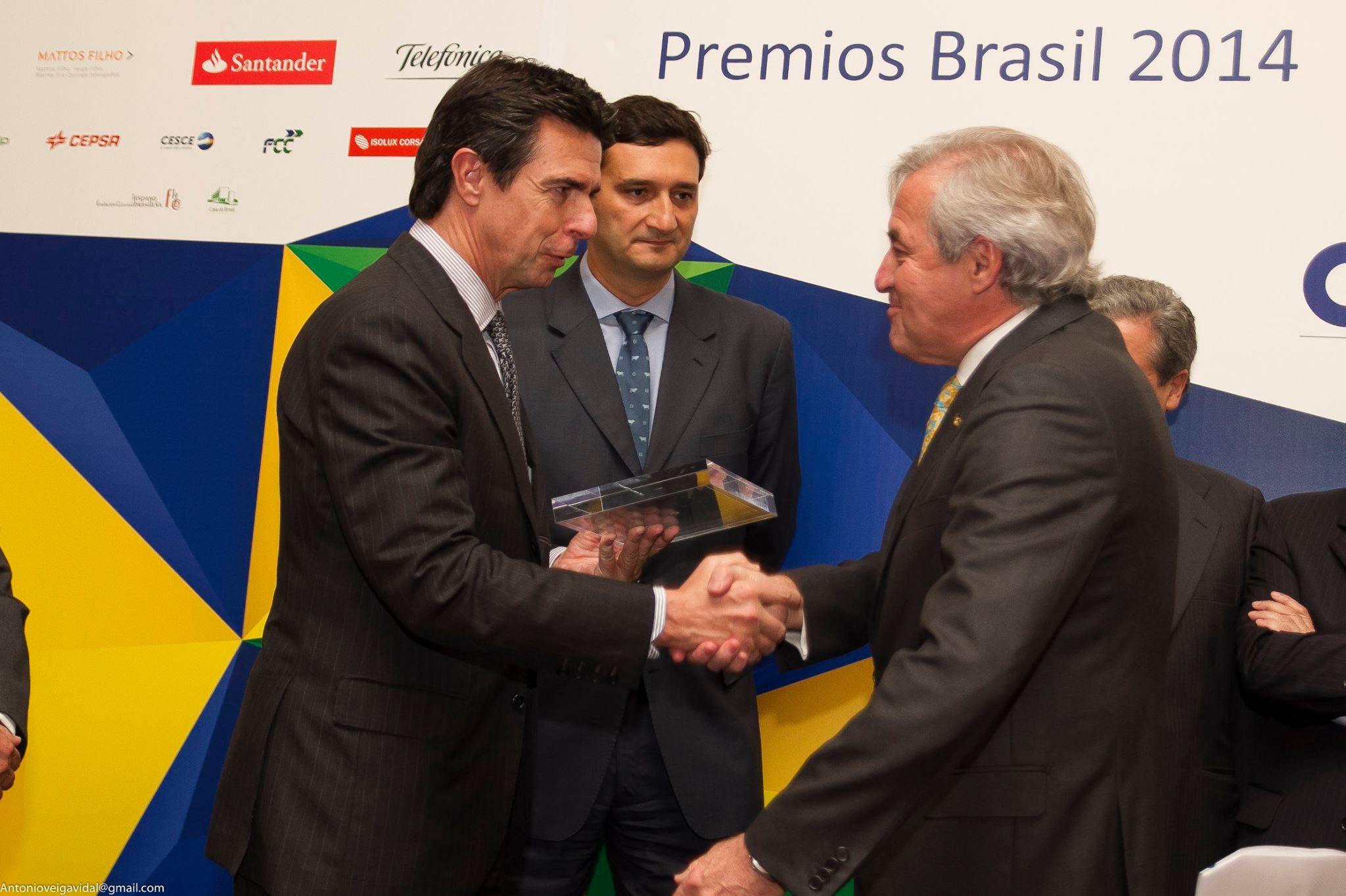 El Centro de Estudios Brasileños recibe el Premio Brasil 2014 en la categoría de mejor Acción Cultural