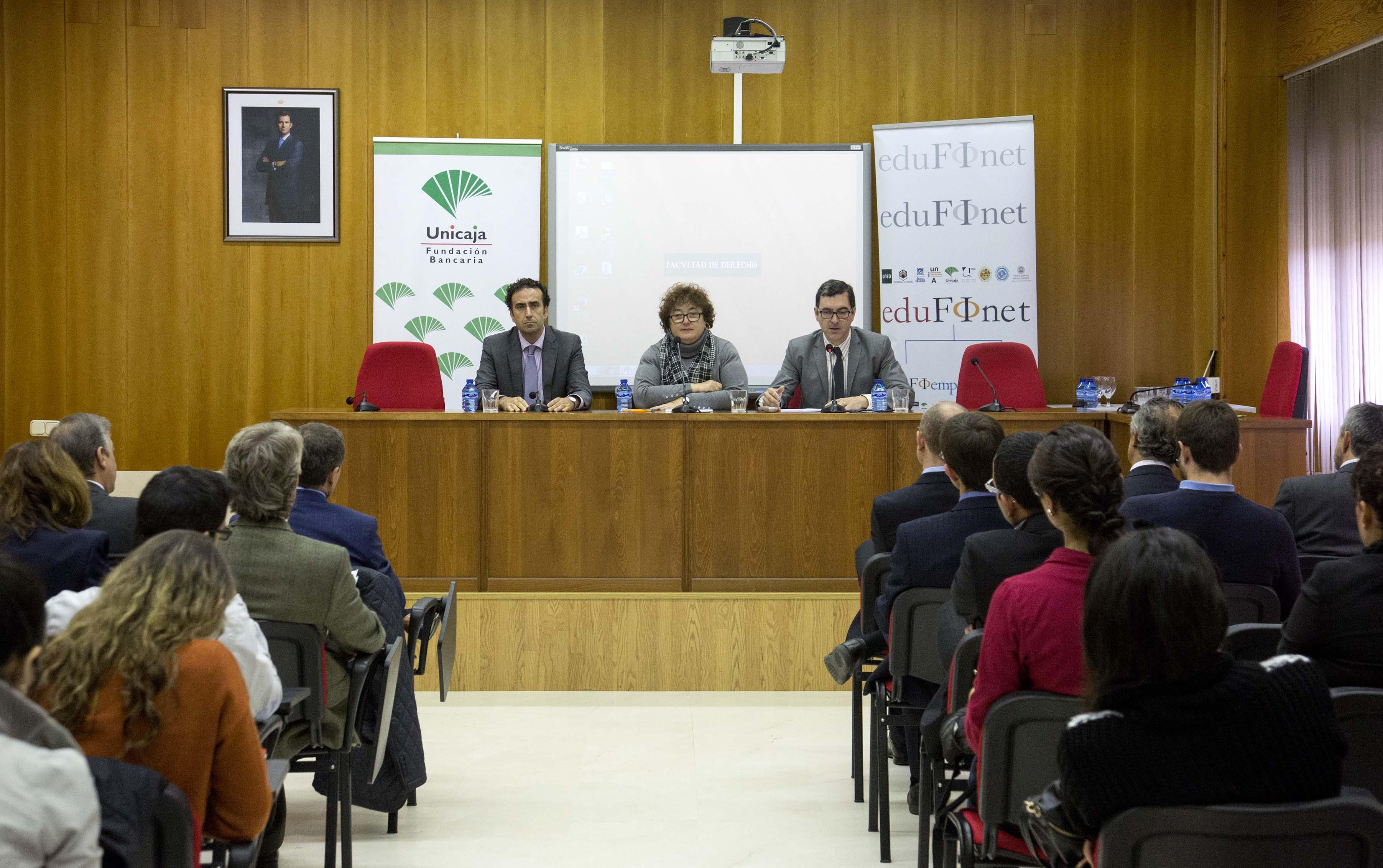 Banco CEISS, Fundación Bancaria Unicaja y Universidad de Salamanca organizan una jornada sobre educación financiera en el marco del 'Proyecto Edufinet'