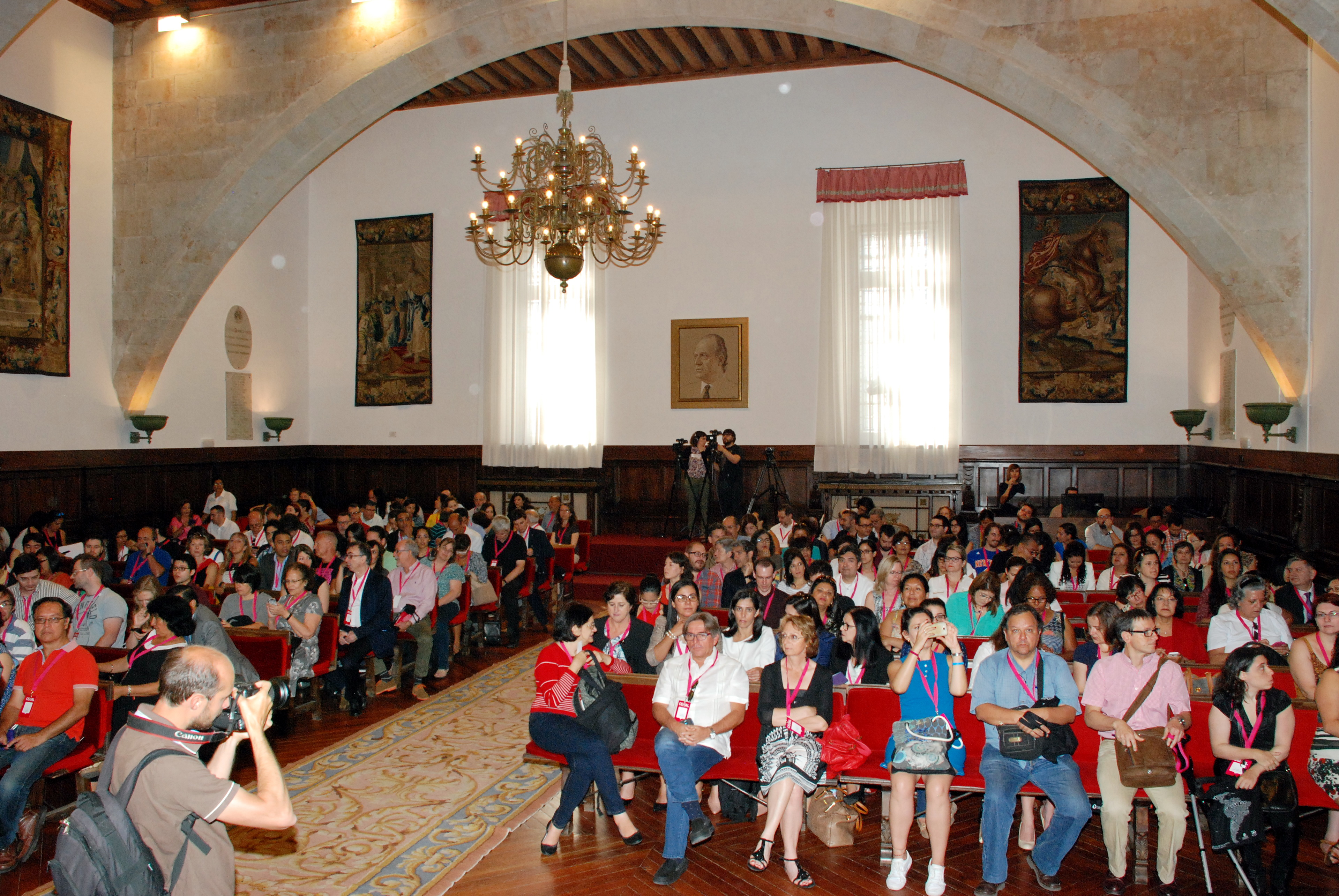 La inauguración de CEISAL 2016 pone de manifiesto la vocación latinoamericana de Salamanca
