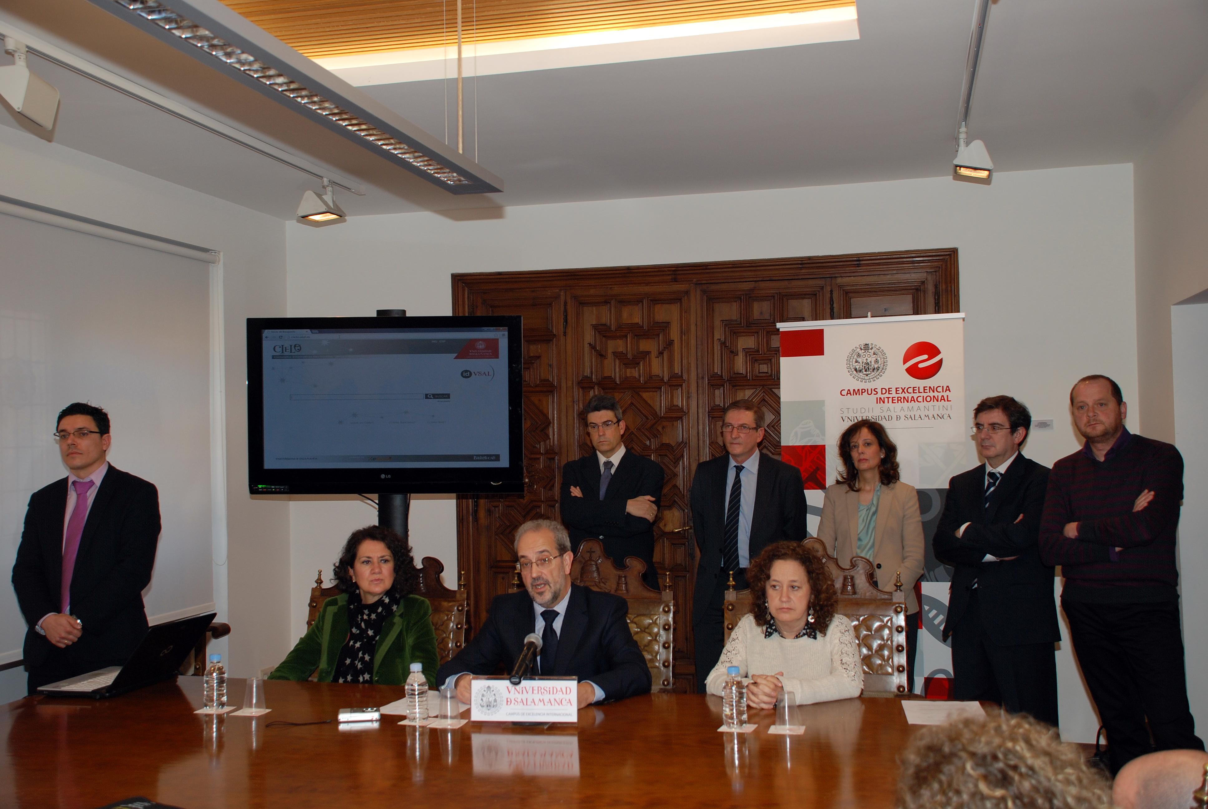 La Universidad de Salamanca presenta la primera plataforma de préstamo bibliotecario de libros electrónicos de la universidad española