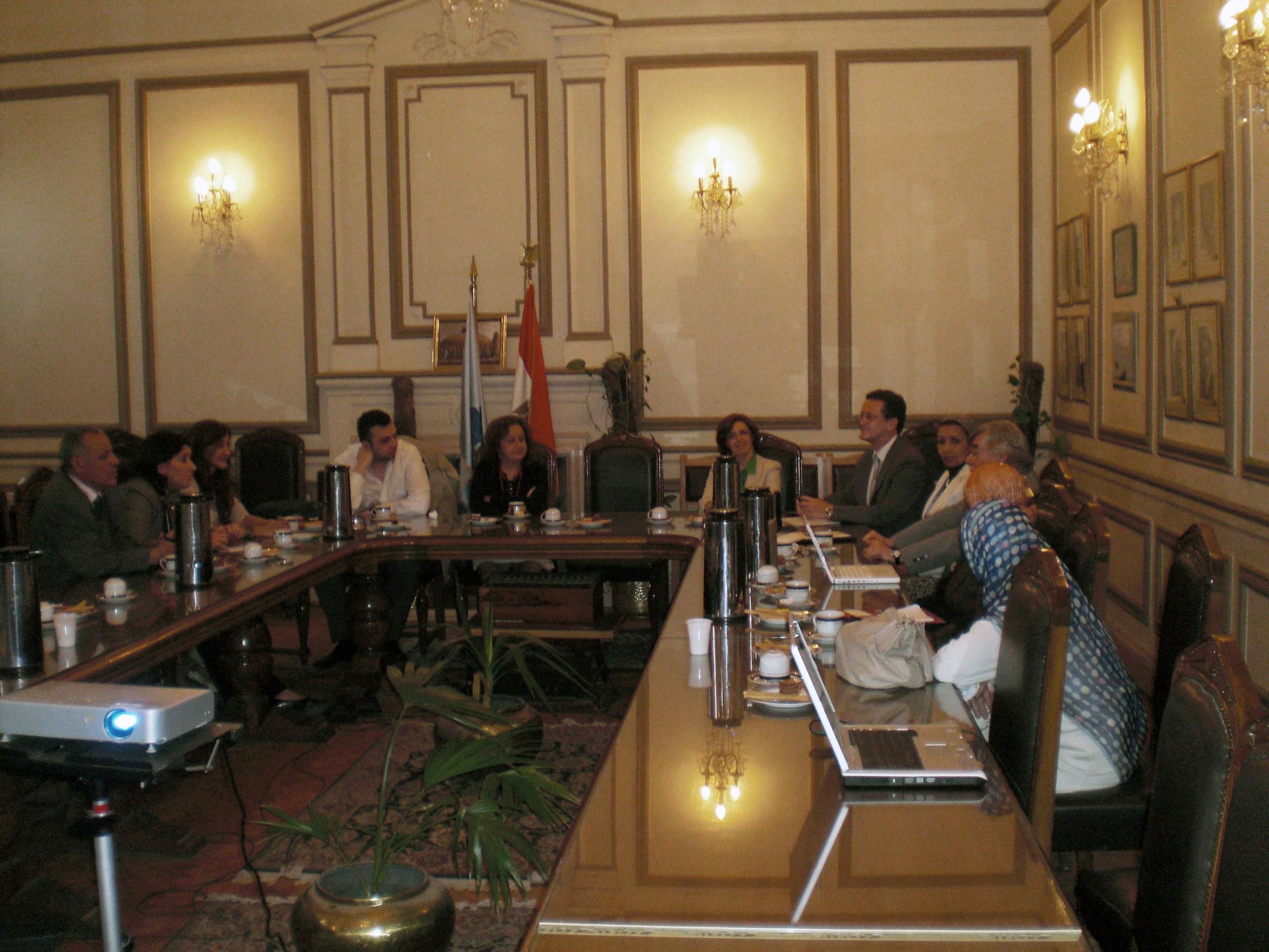 Una delegación del Campus de Excelencia Internacional viaja a El Cairo para establecer contactos estratégicos con autoridades gubernamentales y académicas de Egipto