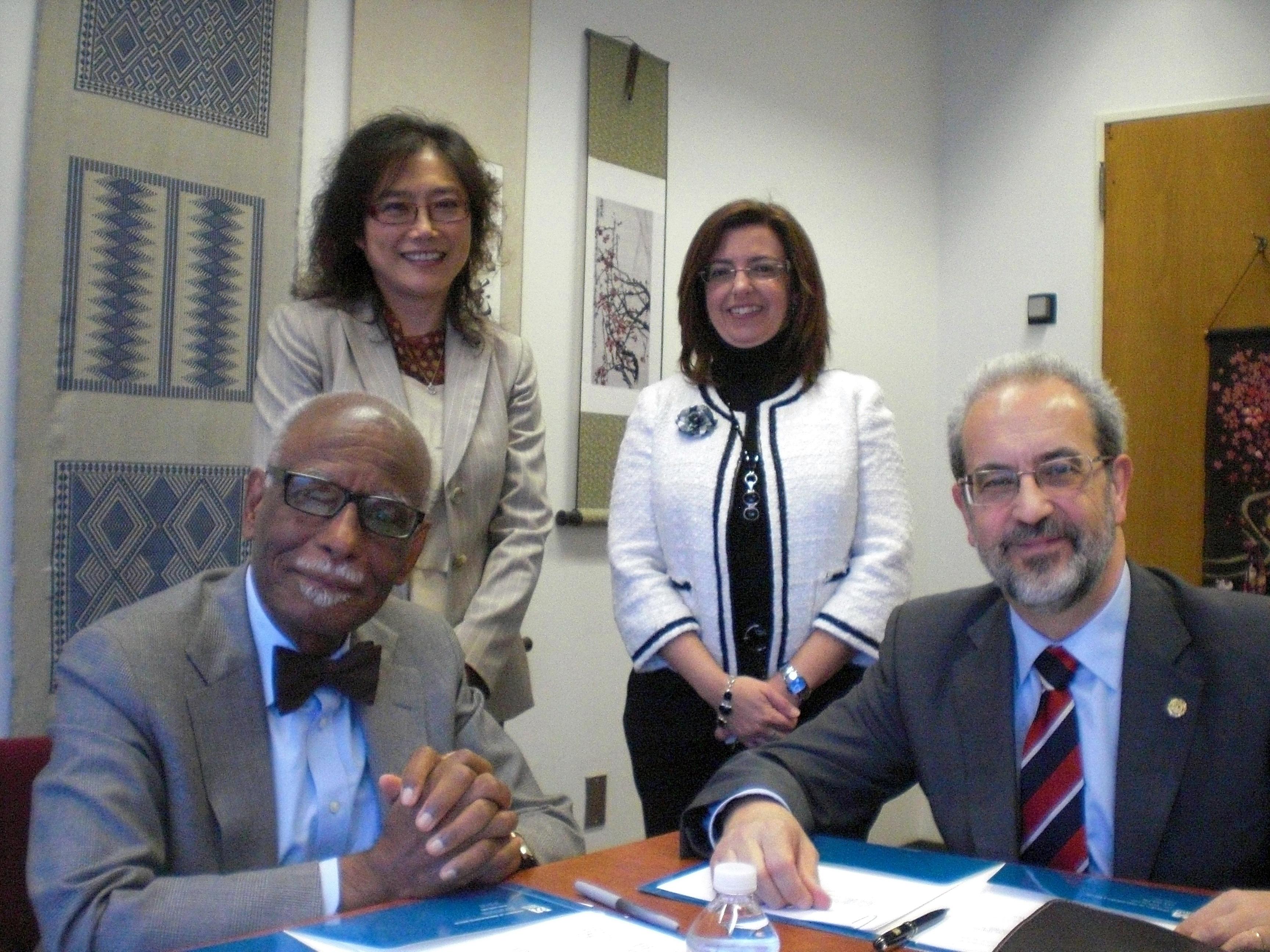 La Universidad de Salamanca impulsa la colaboración internacional con las universidades norteamericanas de Massachusetts y la Universidad Estatal de los Apalaches