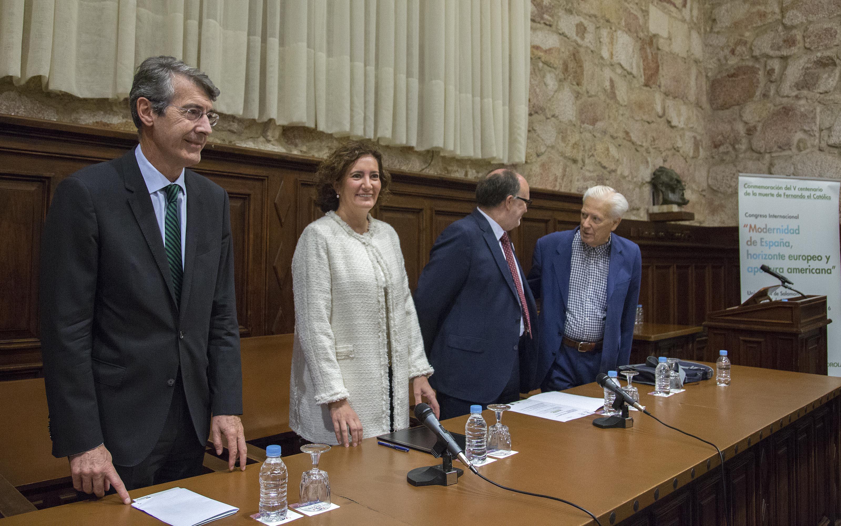 Inaugurado en la Universidad de Salamanca el congreso internacional 'Modernidad de España, horizonte europeo y apertura americana'