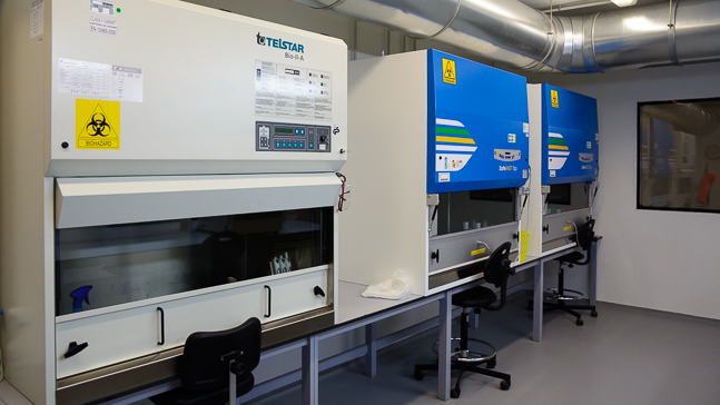 La Universidad de Salamanca estrena laboratorio de alta contención biológica