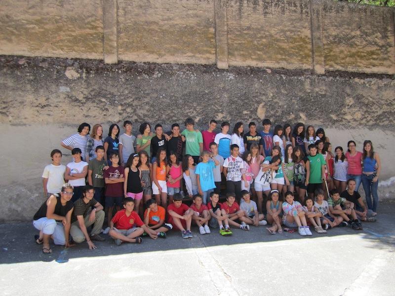 Clausura del campamento de verano de inglés en Ciudad Rodrigo