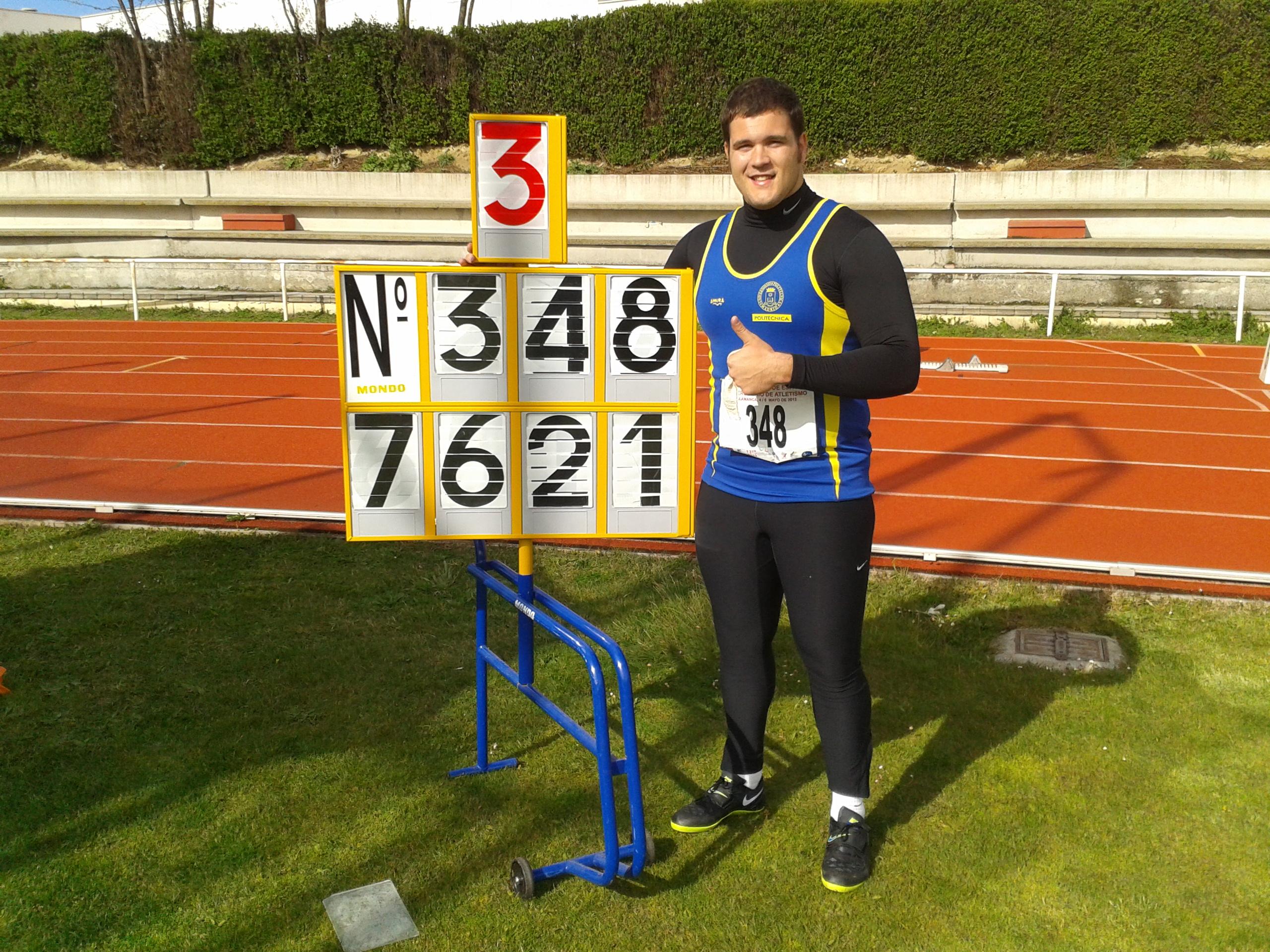 Comienzan las pruebas del LX Campeonato Universitario de Atletismo 2012, organizadas por la Universidad de Salamanca