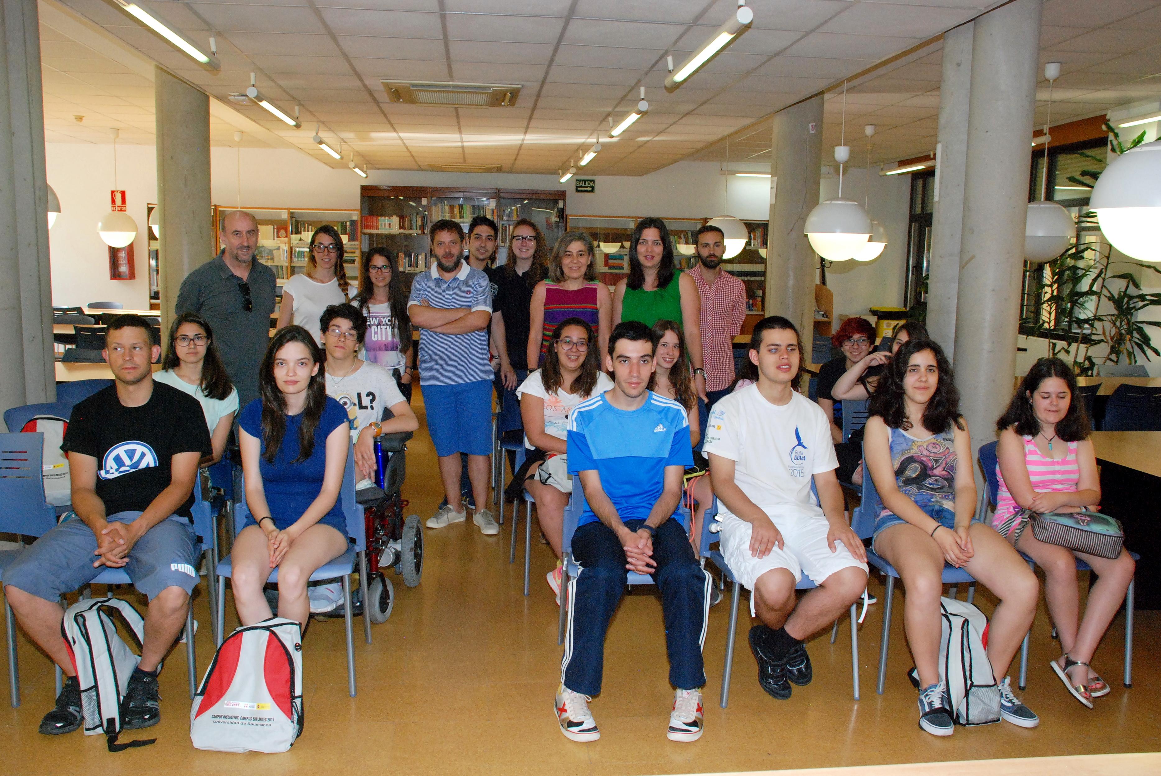 La Universidad de Salamanca participa en una nueva edición del proyecto 'Campus Inclusivos, Campus Sin Límites'