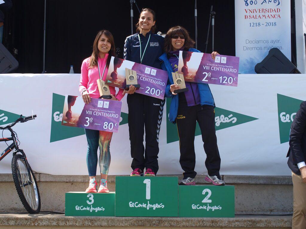 El II Circuito de Carreras Populares 'VIII Centenario de la Universidad de Salamanca' arranca con la participación de más de 500 corredores