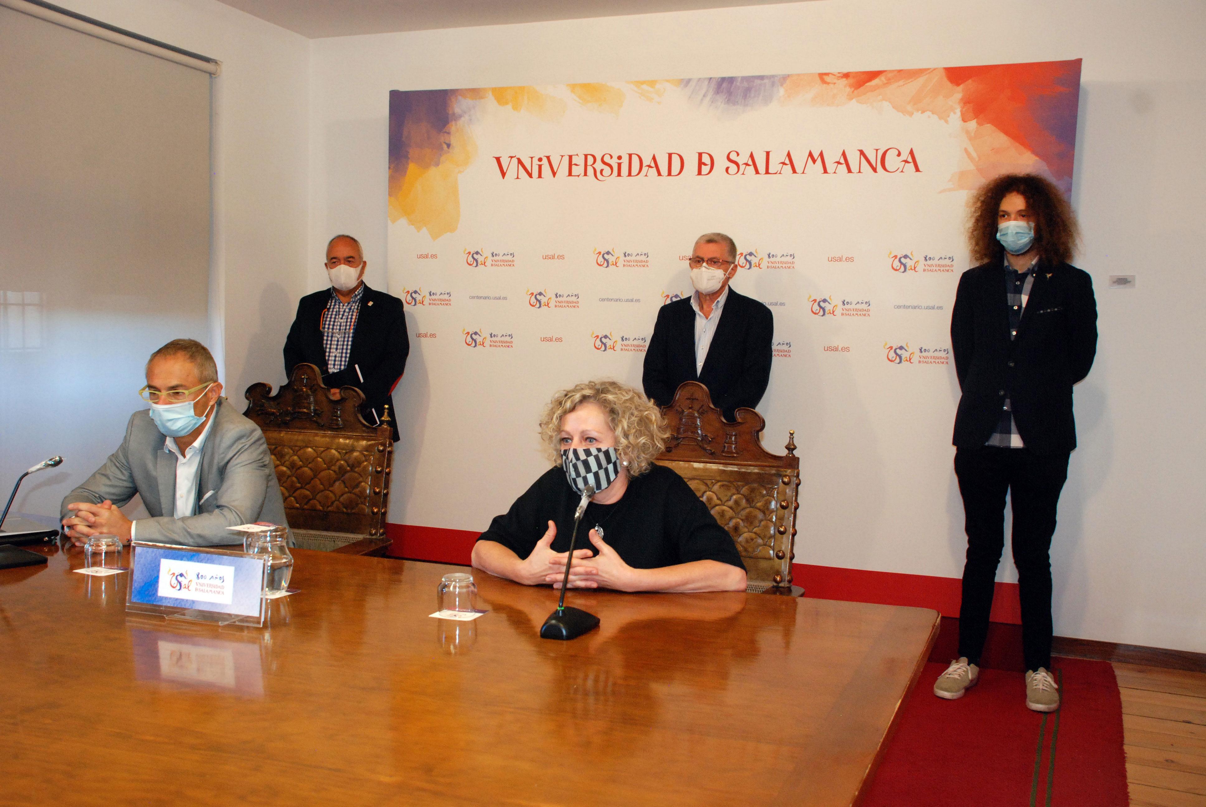 Celia Aramburu Sánchez, nueva vicerrectora de Estudiantes y Sostenibilidad de la Universidad de Salamanca