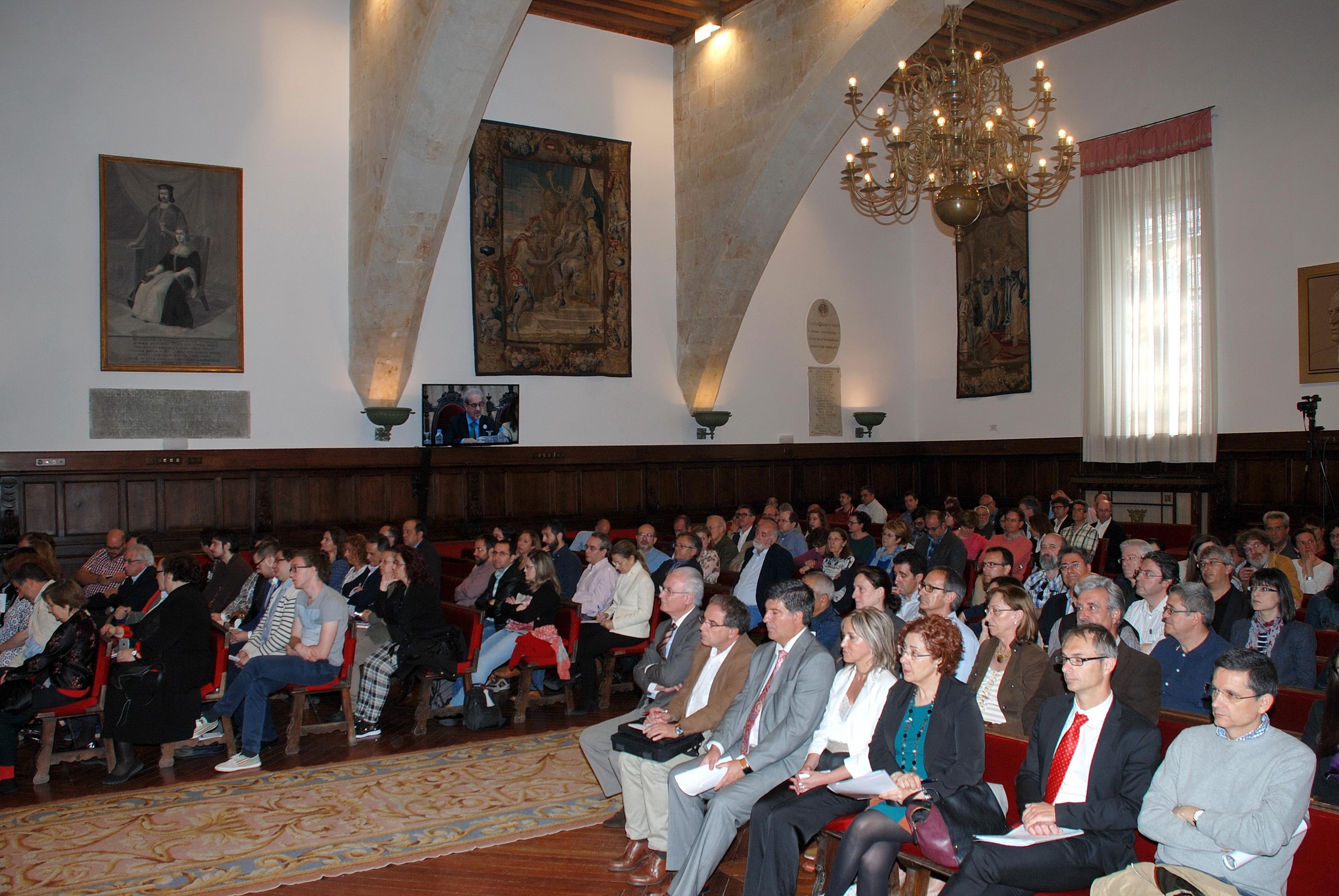 El rector hace llamamiento a la comunidad universitaria para implicarse de forma 'decidida y activa' en la celebración del VIII Centenario de la Universidad