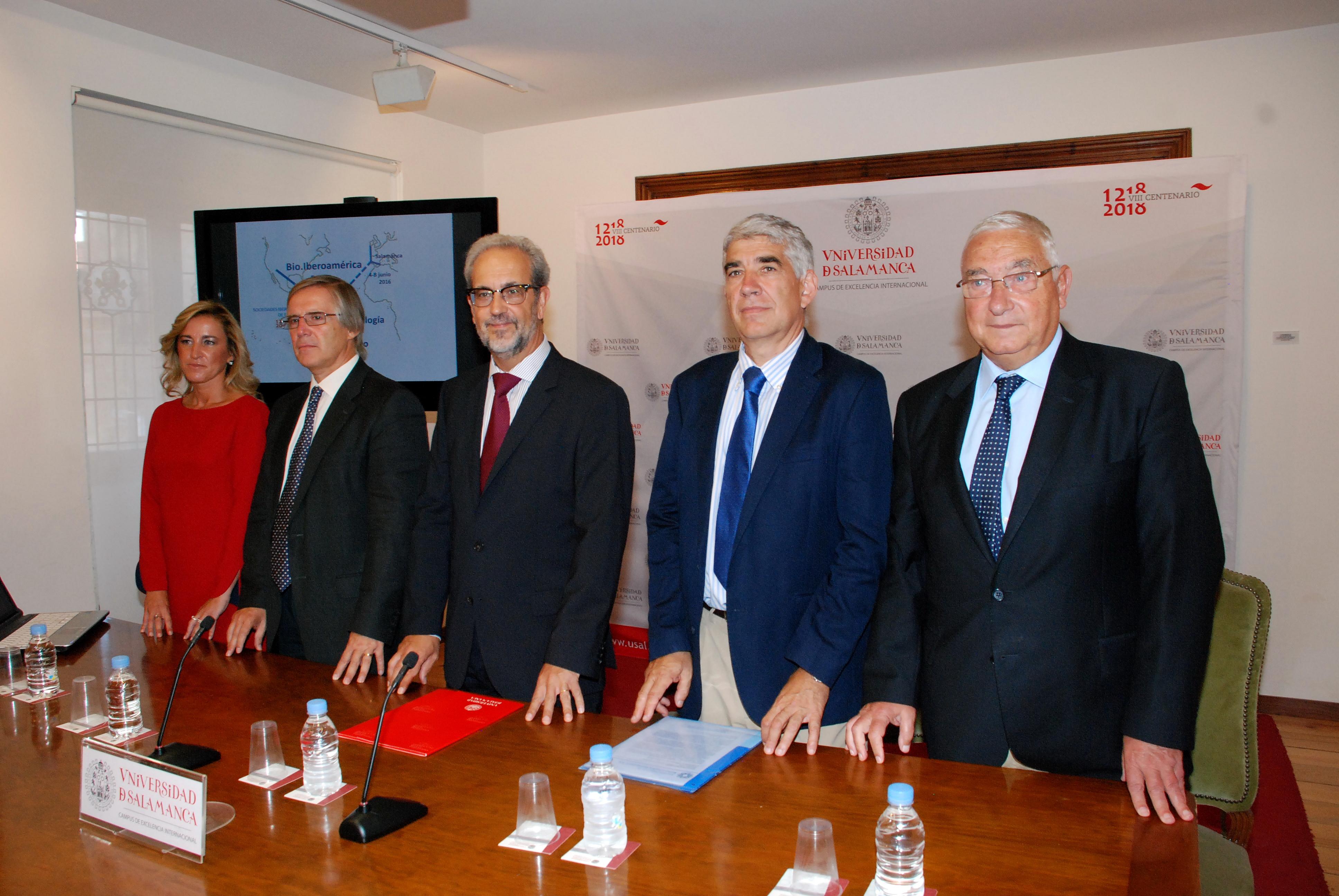 La Universidad de Salamanca acogerá en 2016 un congreso iberoamericano sobre biotecnología