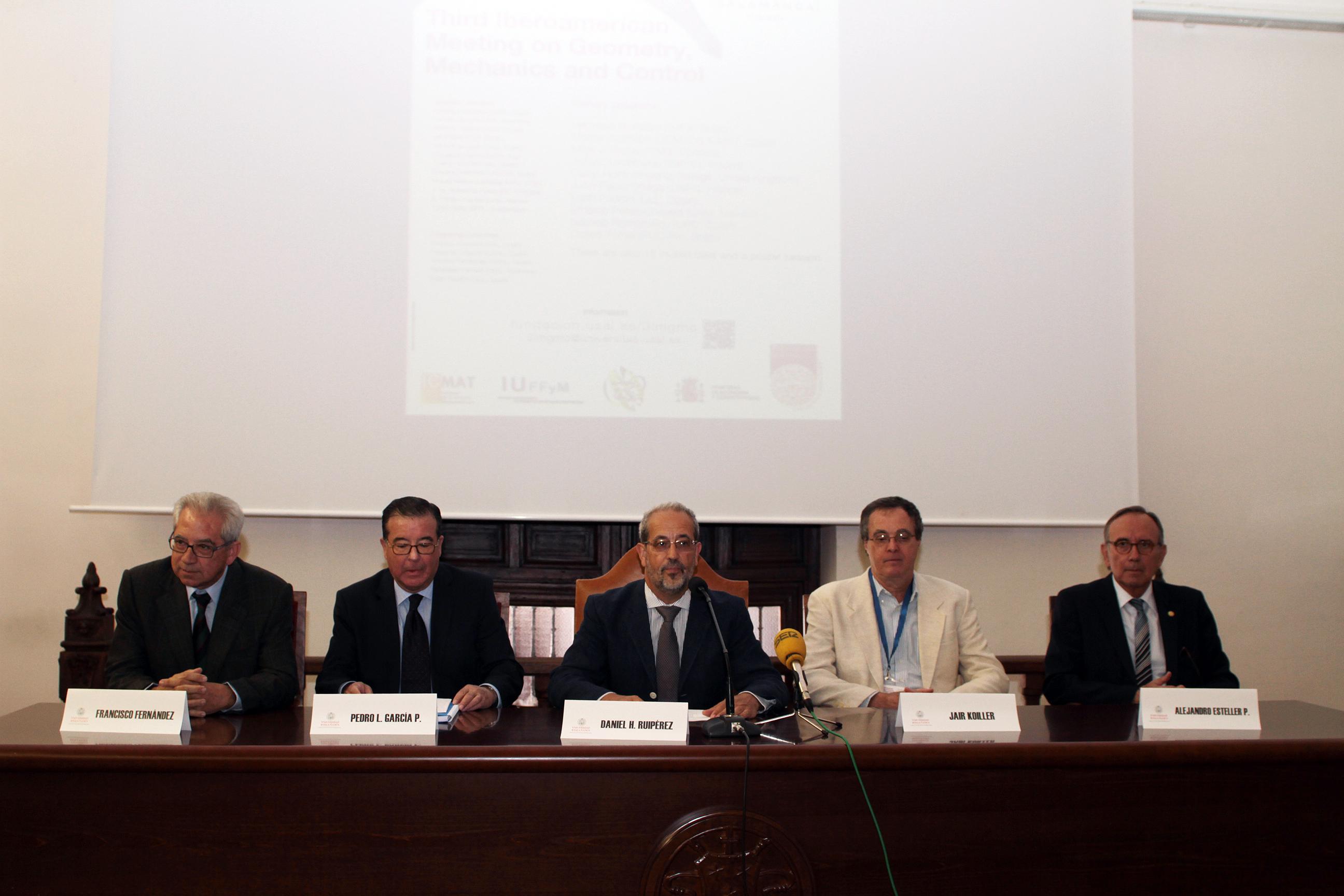 3.ª Conferencia Iberoamericana sobre Geometría, Mecánica y Control