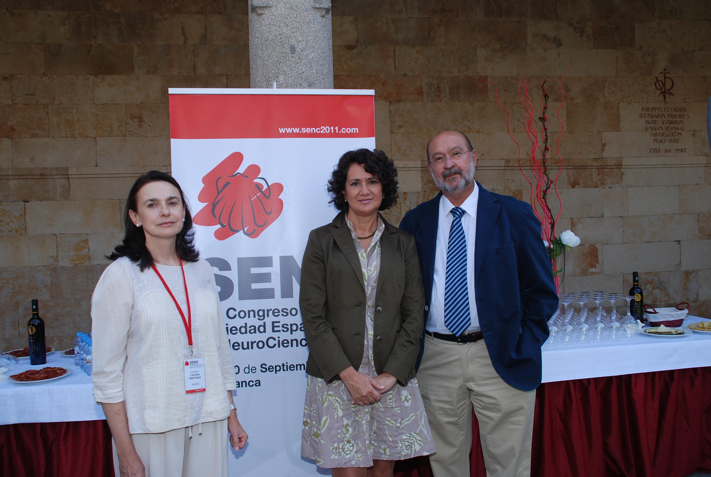 Mª Ángeles Serrano, vicerrectora de Investigación, inaugura el XIV Congreso de la Sociedad Española de NeuroCiencia
