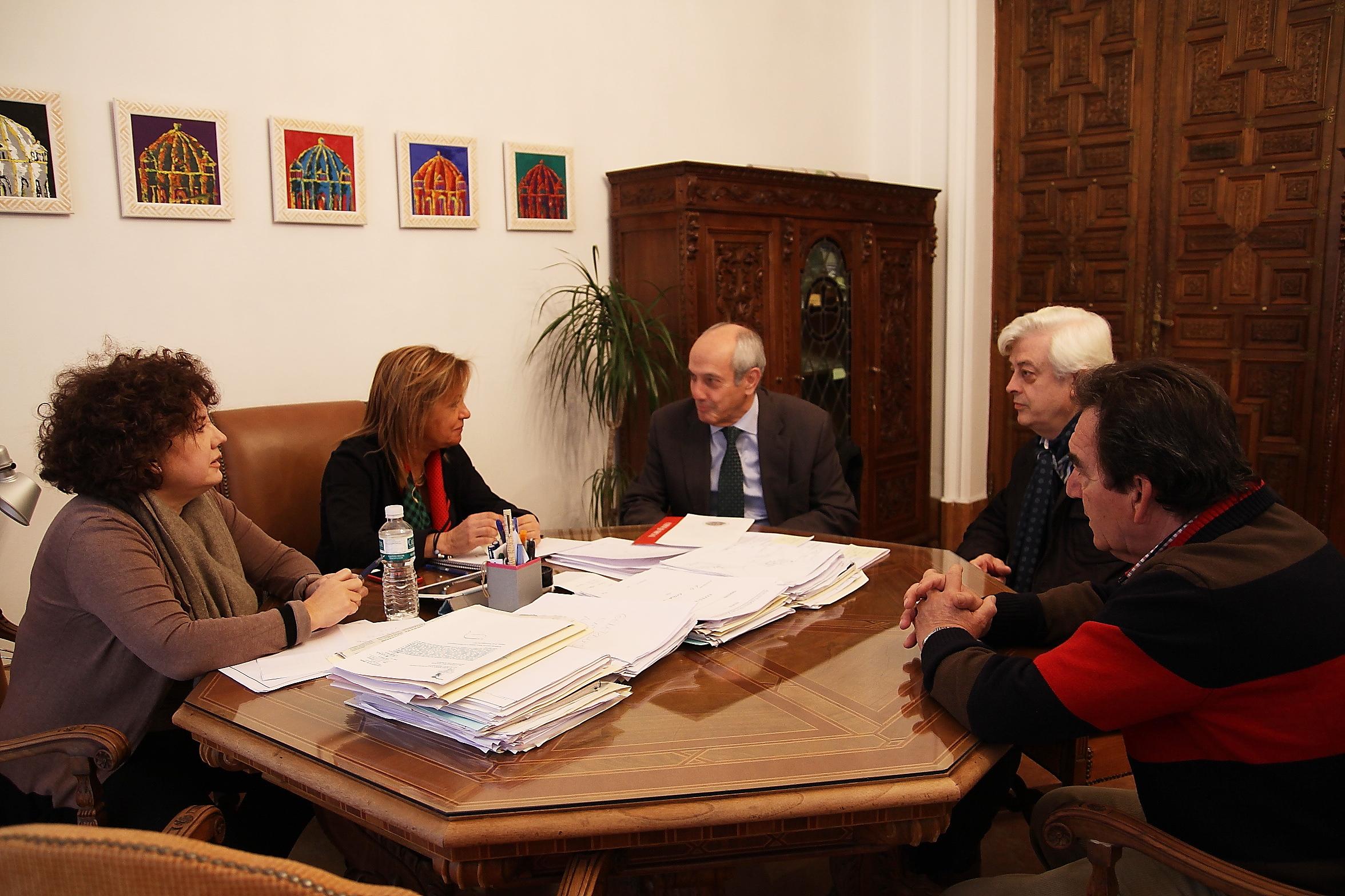 El Ayuntamiento de Zamora acoge una reunión del Plan General de Actuaciones del Consejo Social de la Universidad de Salamanca