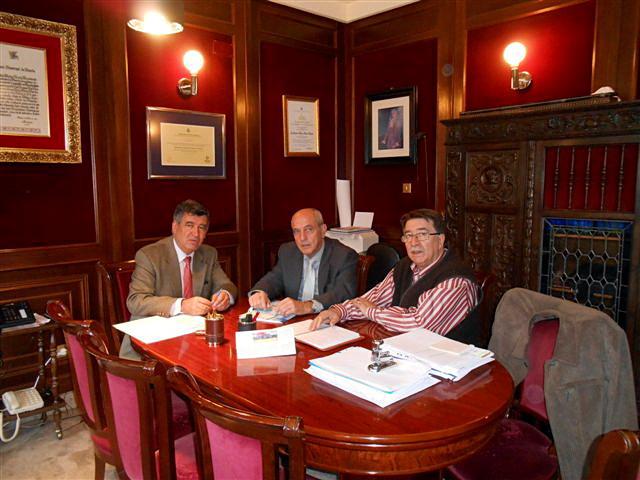 El Ayuntamiento de Béjar acogió la primera reunión del Plan General de Actuaciones del Consejo Social de la Universidad de Salamanca