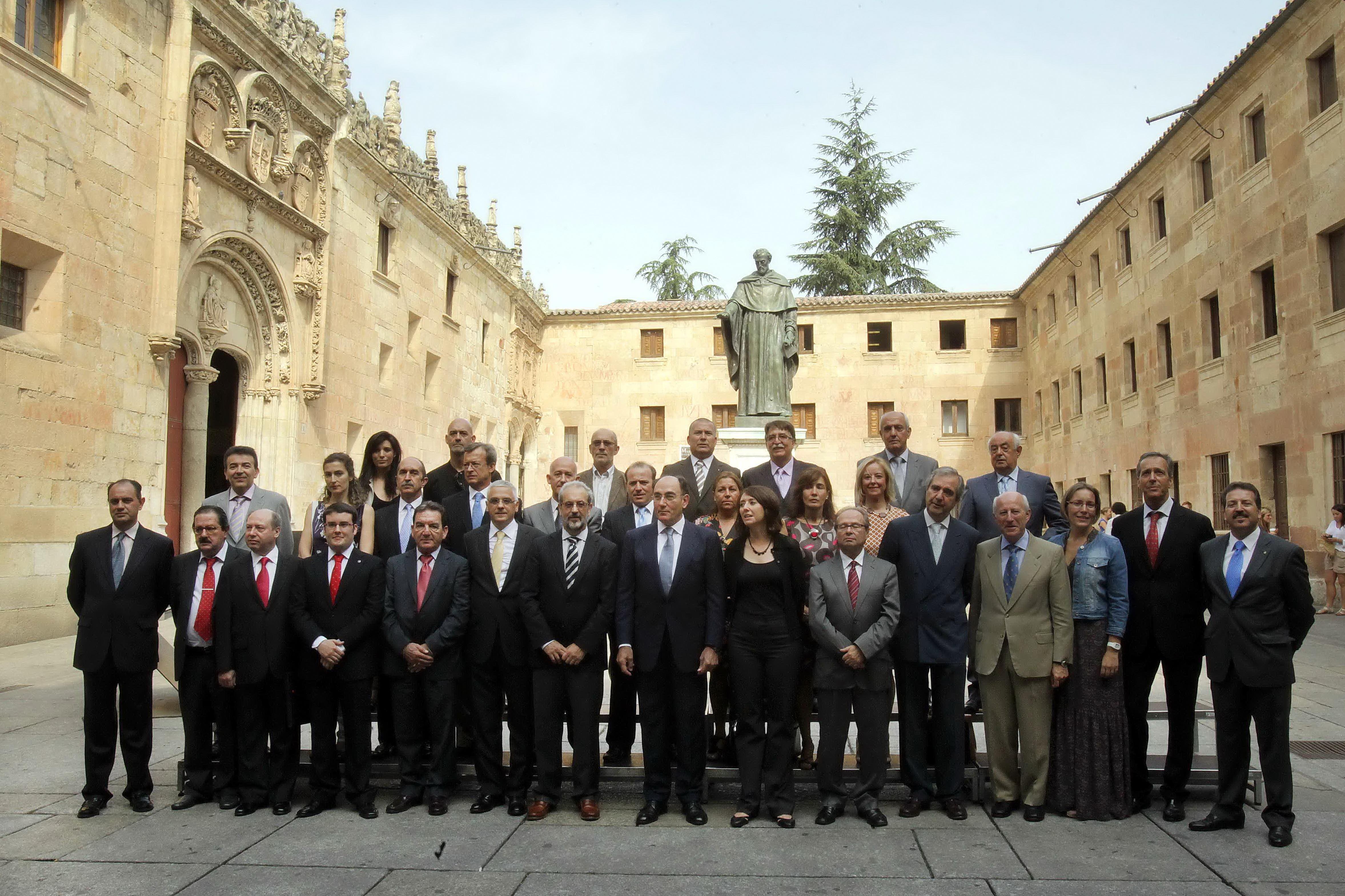 Constituido el nuevo Consejo Social de la Universidad de Salamanca