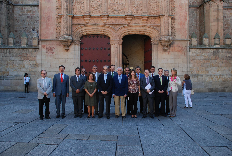 El Patronato de la Fundación Campus de Excelencia Internacional 'Studii Salamantini' celebra sesión constitutiva