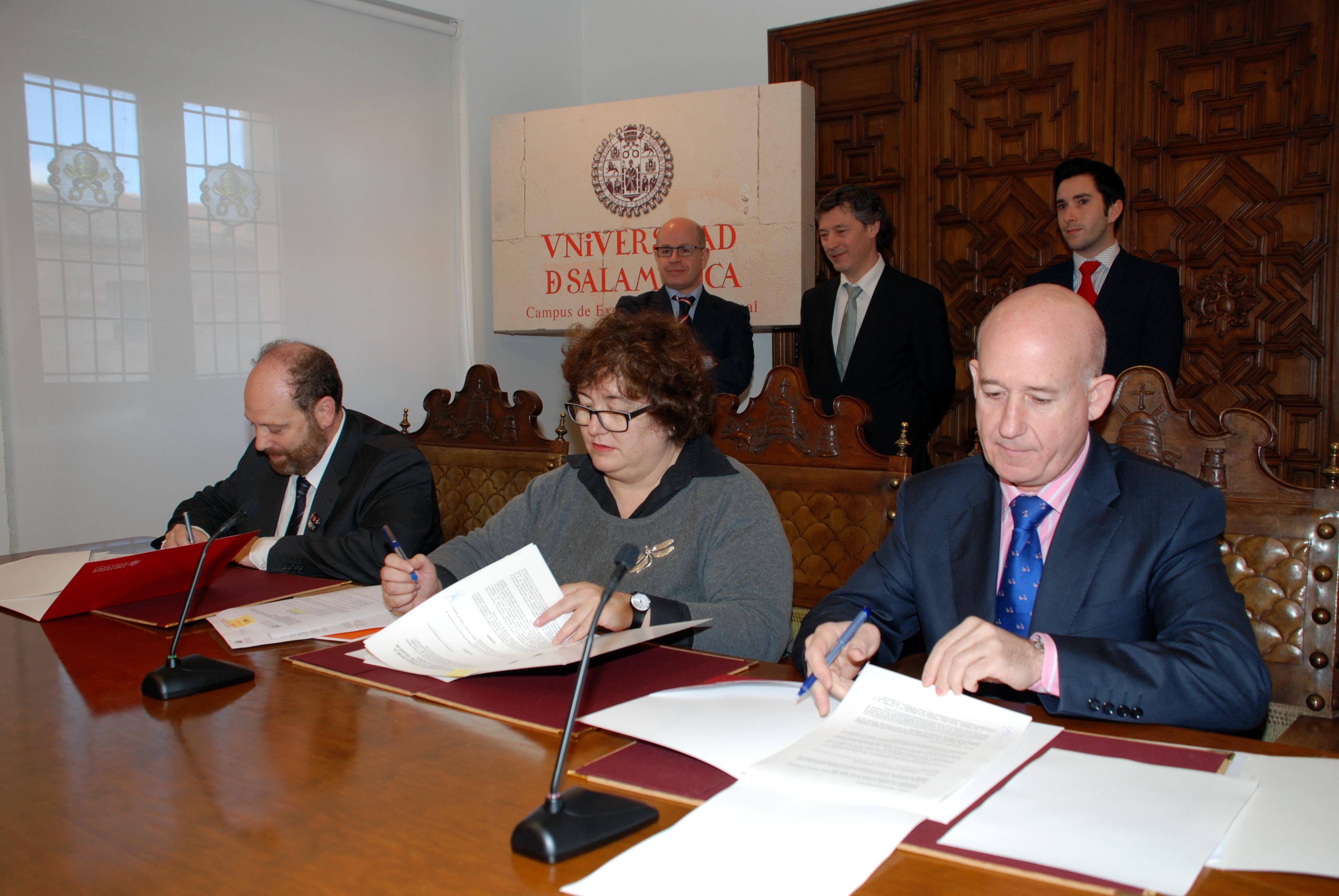 La Universidad de Salamanca, la Cámara de Comercio y el Colegio de Abogados de Salamanca impulsan la creación del 'Título propio 'Diploma de especialización en mediación'
