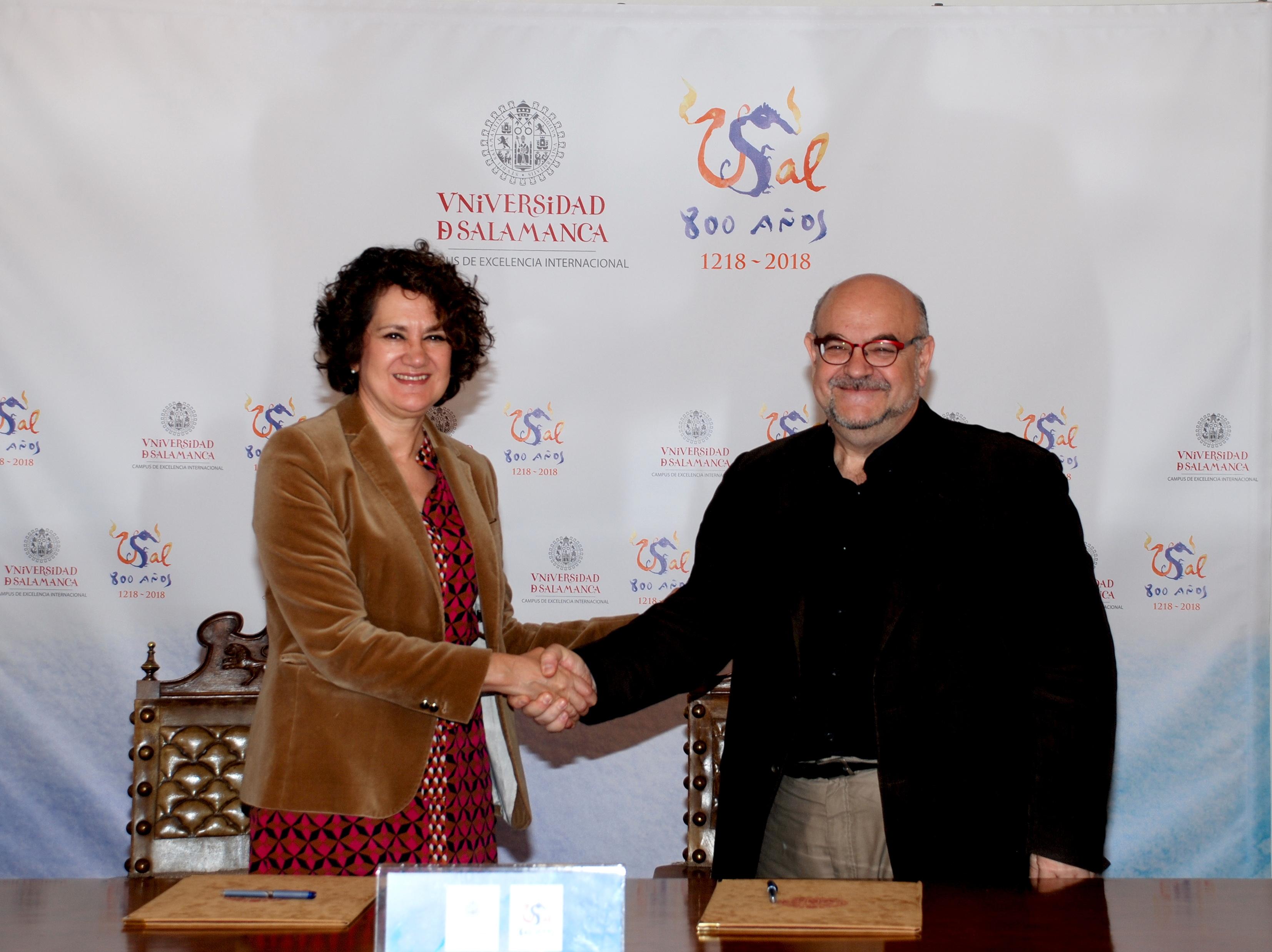 La Universidad de Salamanca y Amnistía Internacional Salamanca cooperarán en el estímulo de los derechos humanos