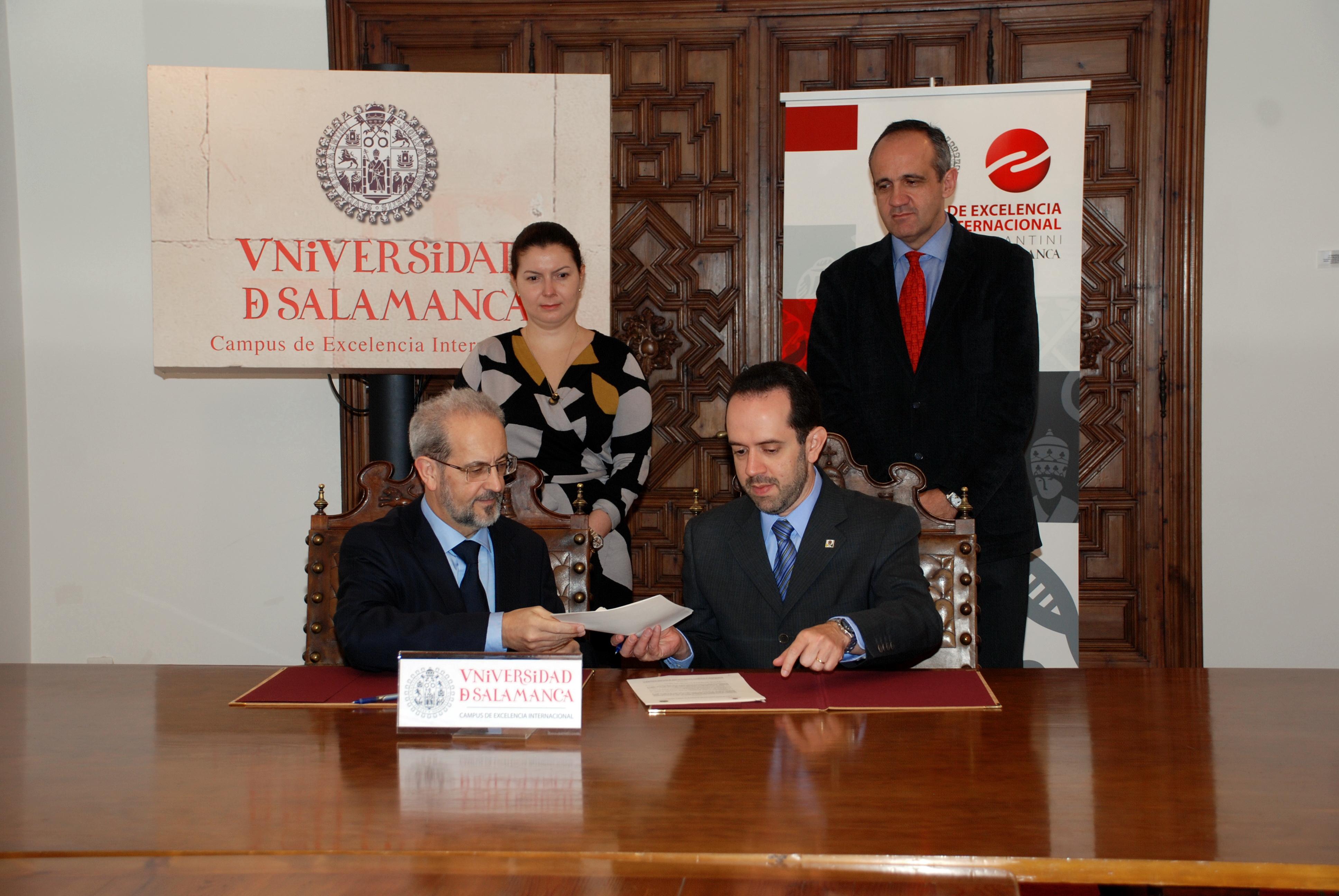 La Universidad de Salamanca y la Contraloría General de la Unión de Brasil suscriben un convenio de colaboración