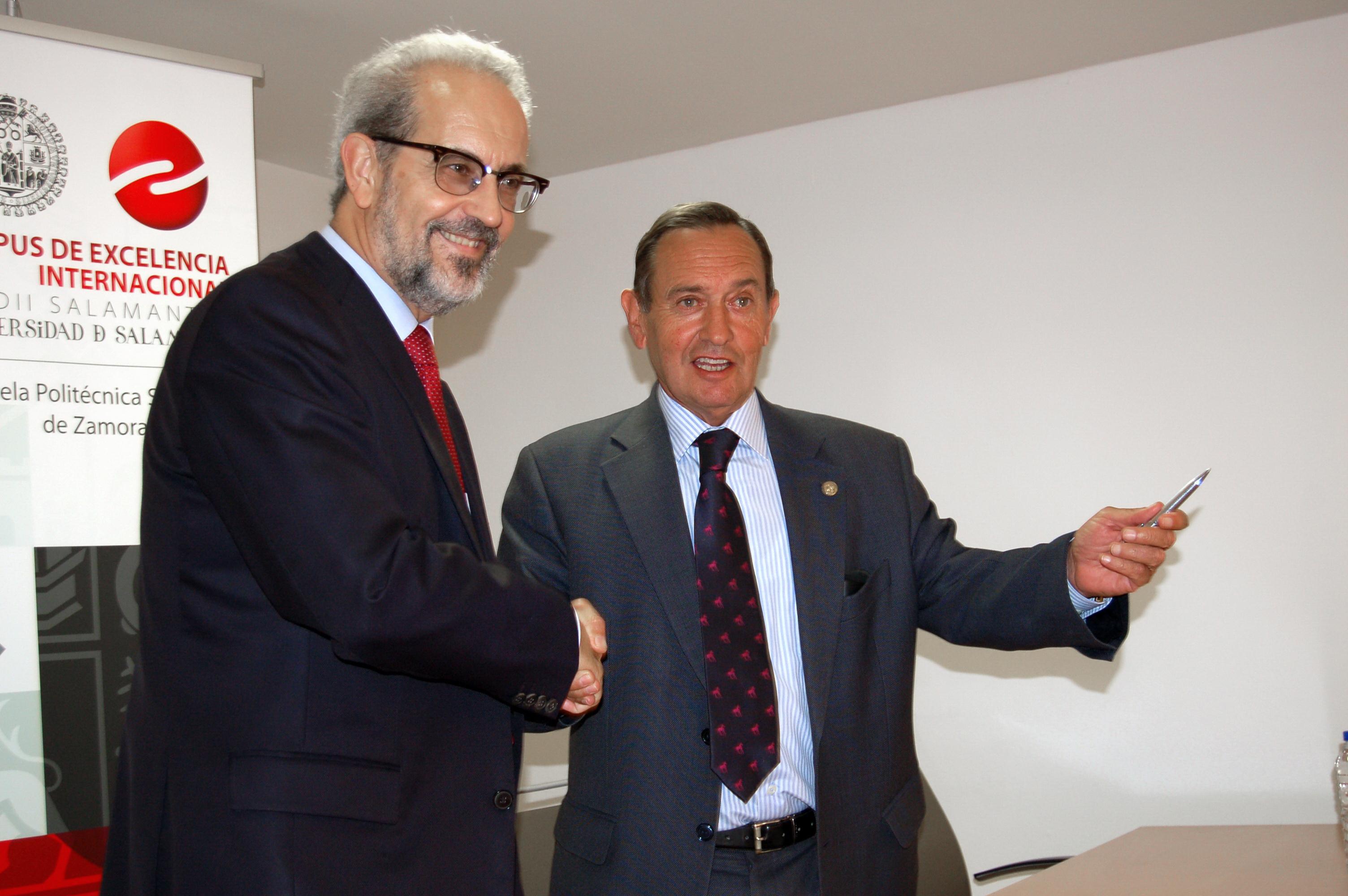 La Universidad de Salamanca y la Cámara Oficial de Comercio e Industria de Zamora impulsan la creación y desarrollo de empresas