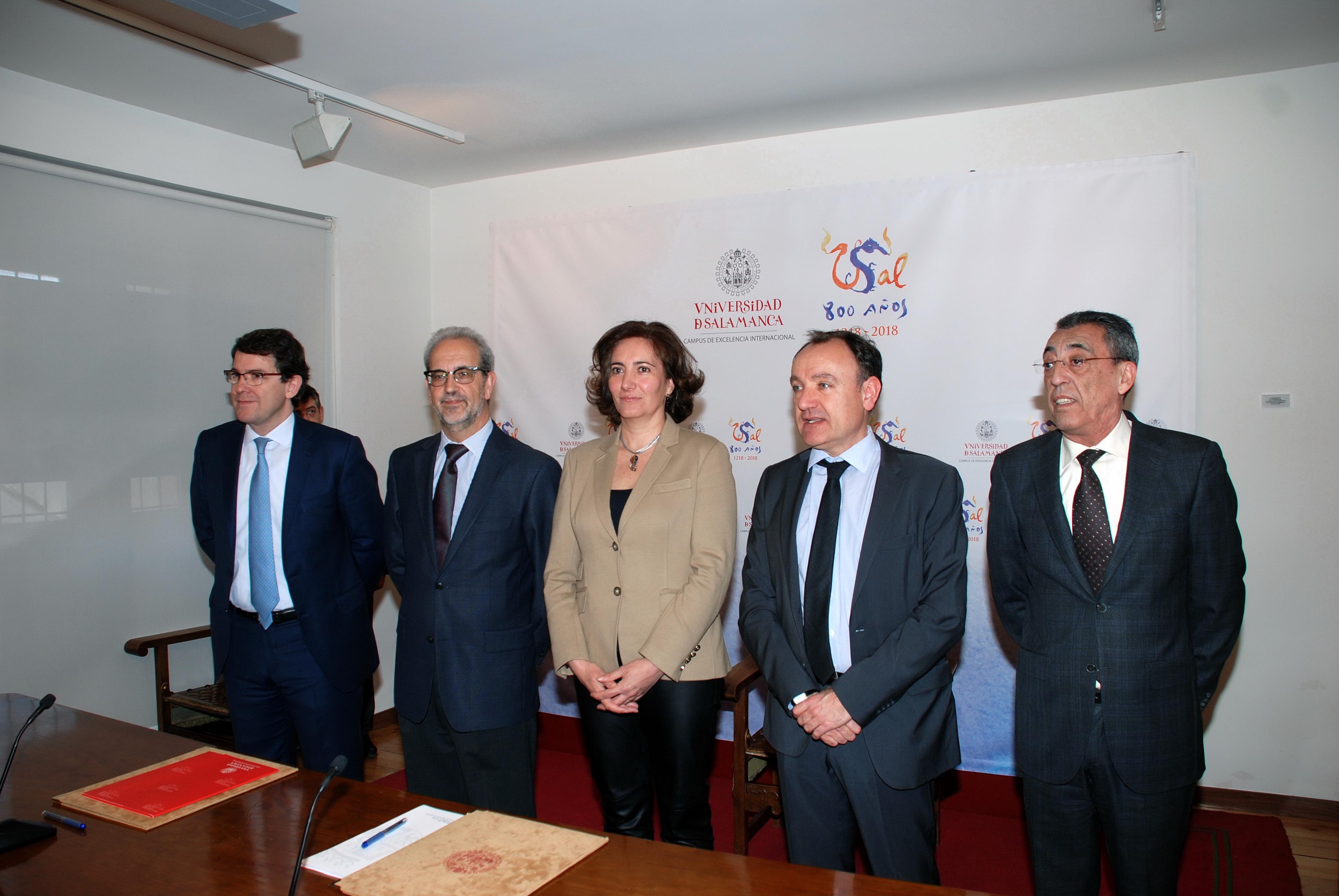 La Junta asume el compromiso de financiar las obras del futuro Centro Internacional de Referencia del Español de la Universidad de Salamanca