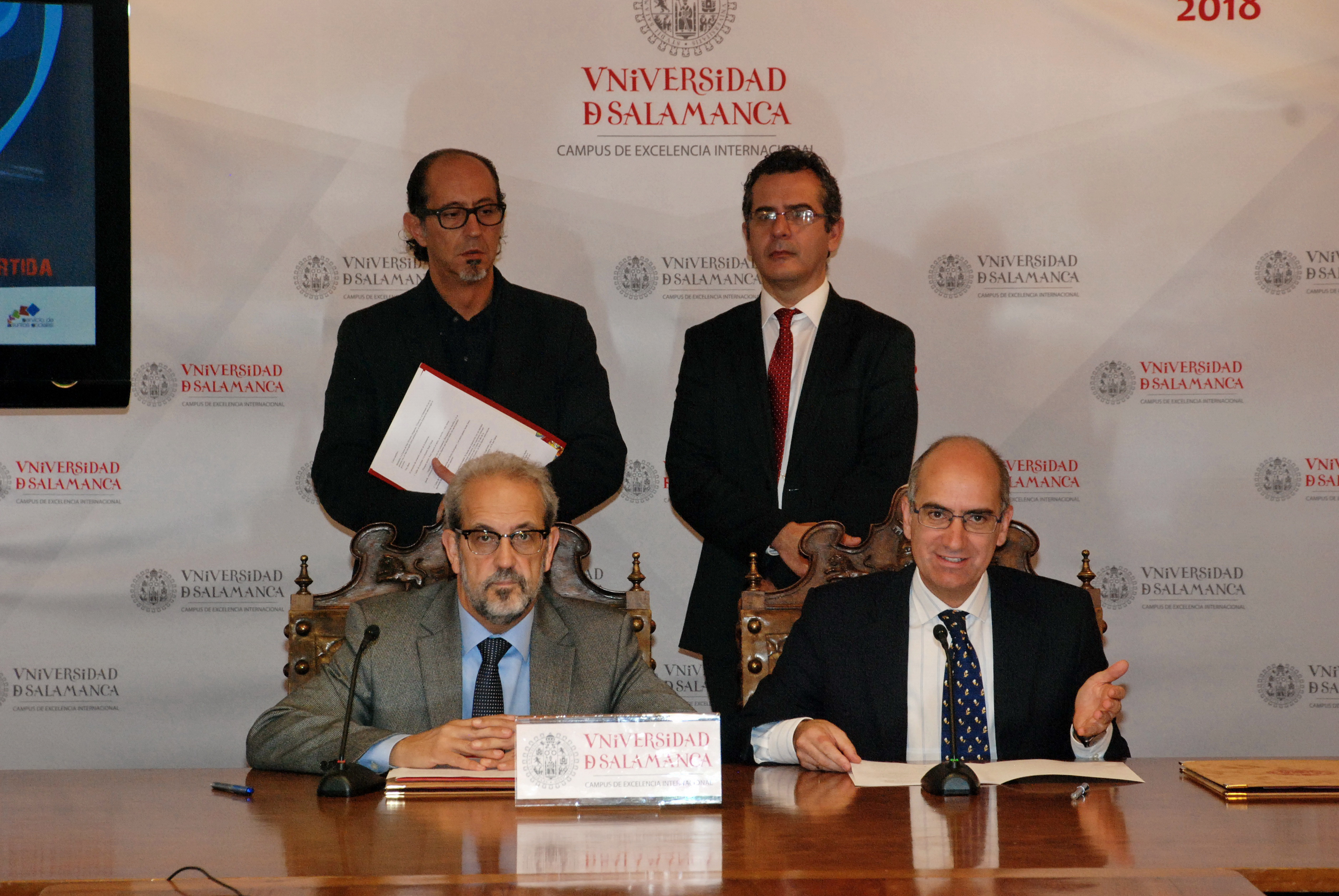 La Universidad y la Diputación Provincial impulsan la dinamización cultural de la zona rural de Salamanca