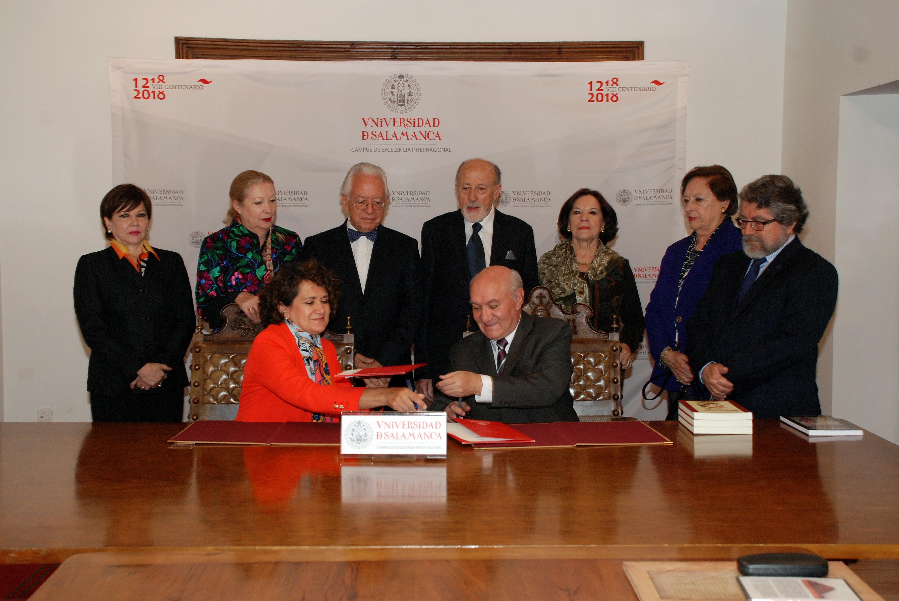 La Universidad de Salamanca suscribe un acuerdo de cooperación con la Academia Nacional de Historia del Ecuador