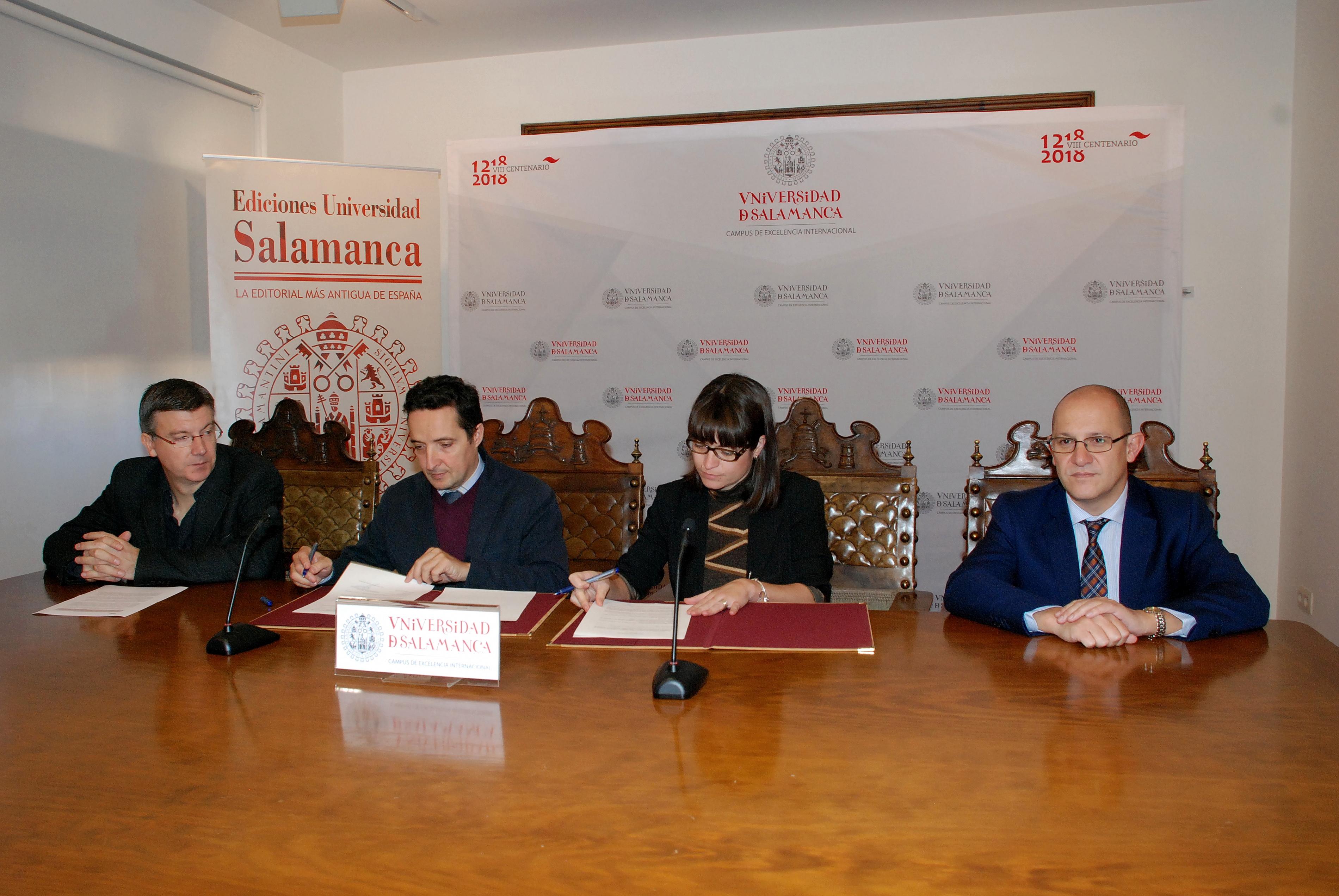 Ediciones Universidad de Salamanca crea una alianza estratégica con Tirant Lo Blanch para la publicación de libros de derecho y ciencias afines