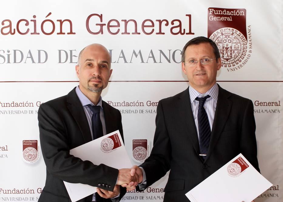 La Fundación General de la Universidad y E. Leclerc Salamanca suscriben un convenio de colaboración