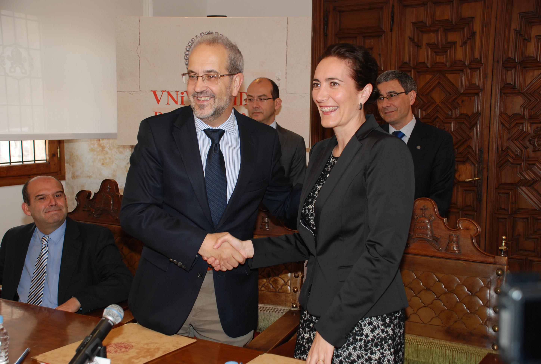 La Universidad de Salamanca y la Fundación Villalar suscriben un acuerdo para el desarrollo del Máster en Evaluación y Gestión del Patrimonio Histórico Artístico